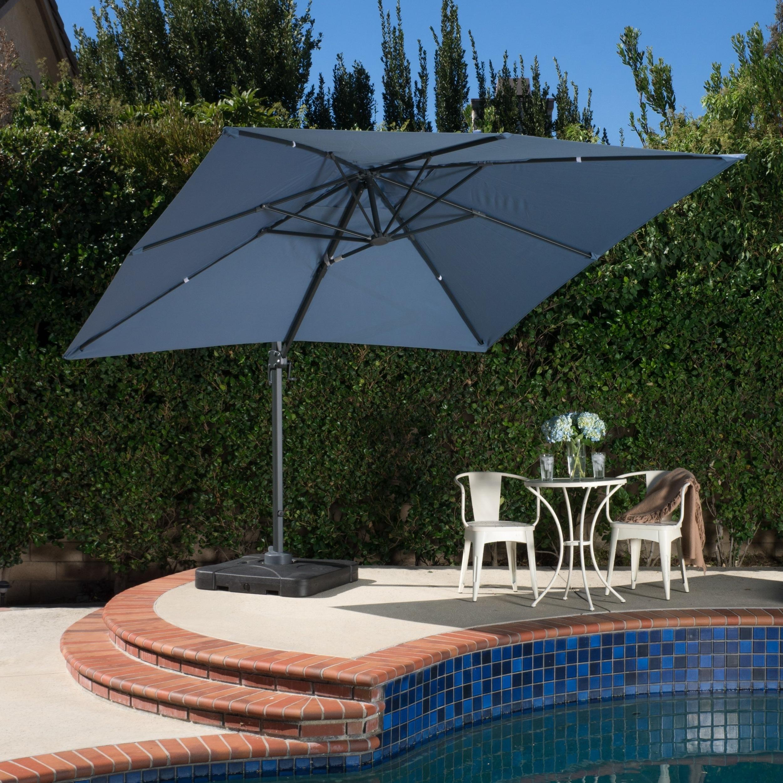 Our Best Patio In Trendy Drape Patio Umbrellas (View 13 of 20)