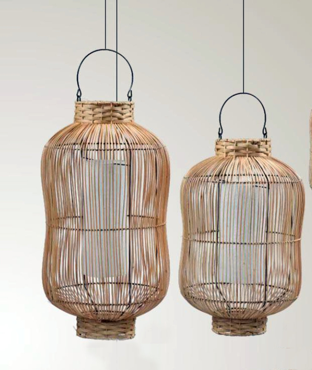 Outdoor Bamboo Lanterns Pertaining To Most Popular Lighting — Oasis (View 13 of 20)