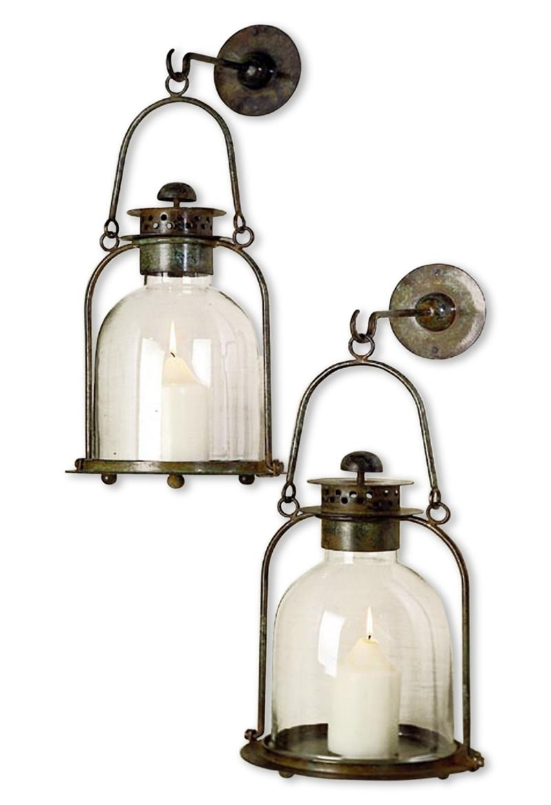 Outdoor Big Lanterns In Preferred Fetching Malvern Outdoor Battery Candle Lantern Set Malvern Outdoor (View 8 of 20)