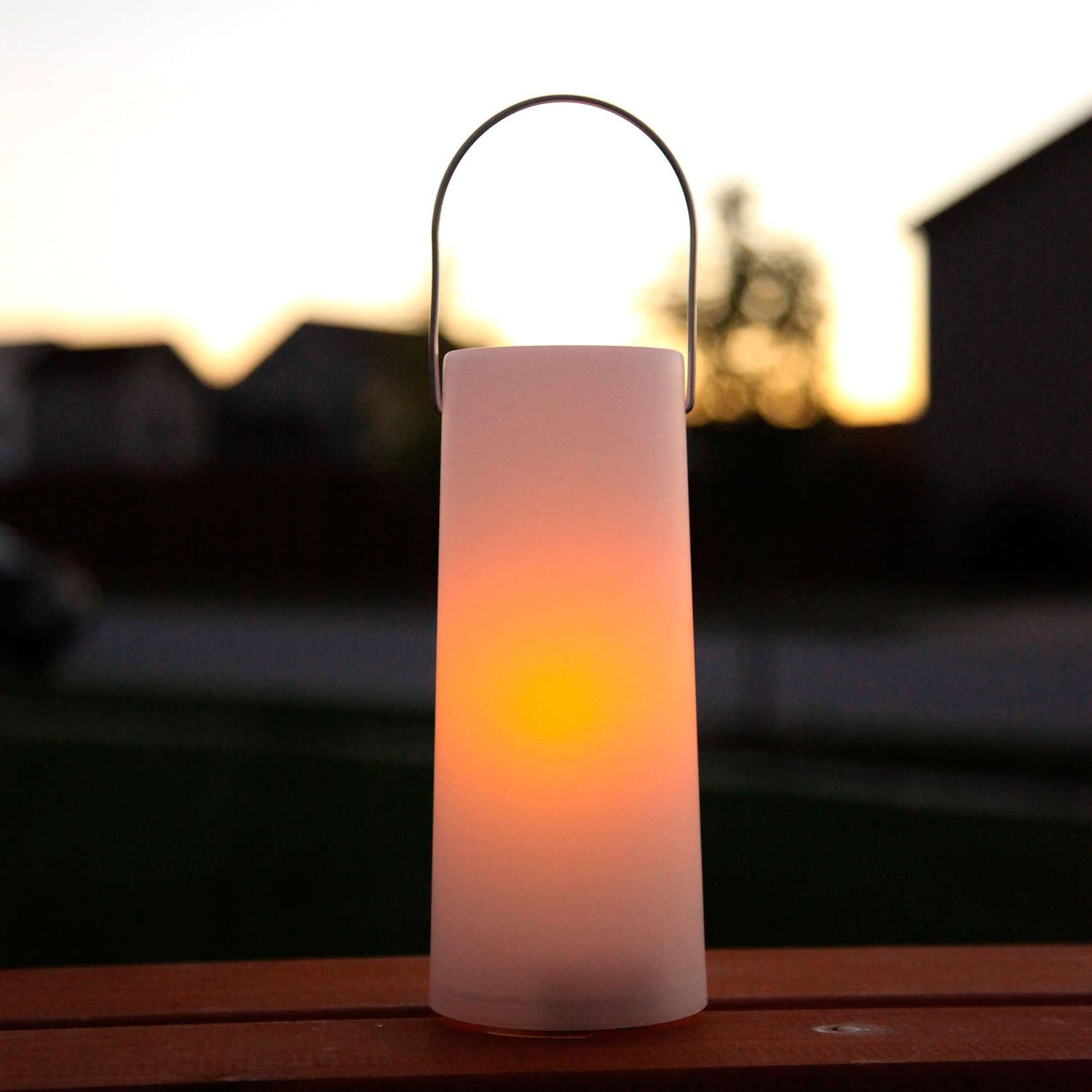 Outdoor Candle Lantern Lights Led Battery Operated Lanterns With Pertaining To Most Current Outdoor Orange Lanterns (View 9 of 20)