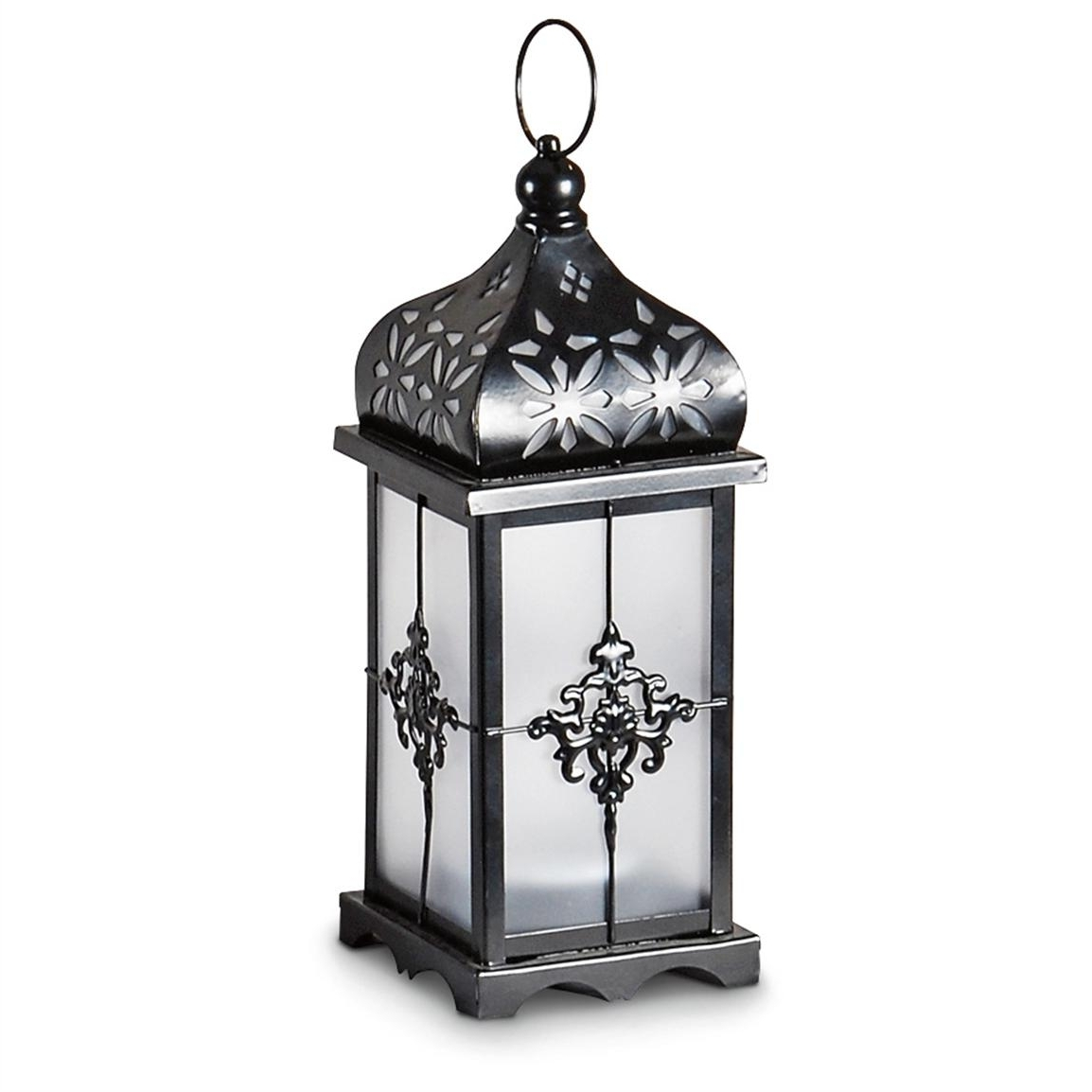 Outdoor Candle Lanterns For Patio Pertaining To Well Known 37 Patio Lanterns Canada, Castlecreek Solar Candle Lantern  (View 12 of 20)