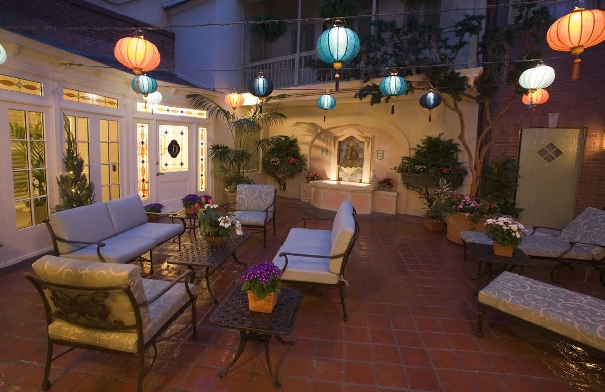 Outdoor Chinese Lanterns For Patio In Current Romatic Outdoor Patio Lighting Ideas Homes With Images Beautiful (View 9 of 20)
