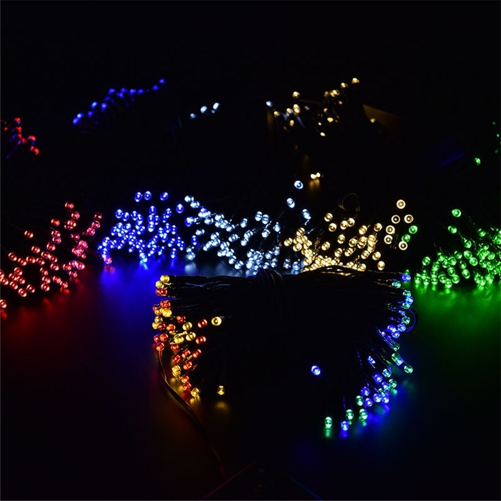Outdoor Christmas Rope Lanterns Pertaining To Latest Hot Sale Christmas Gift Solar Led String Lights For Party Festival (View 20 of 20)