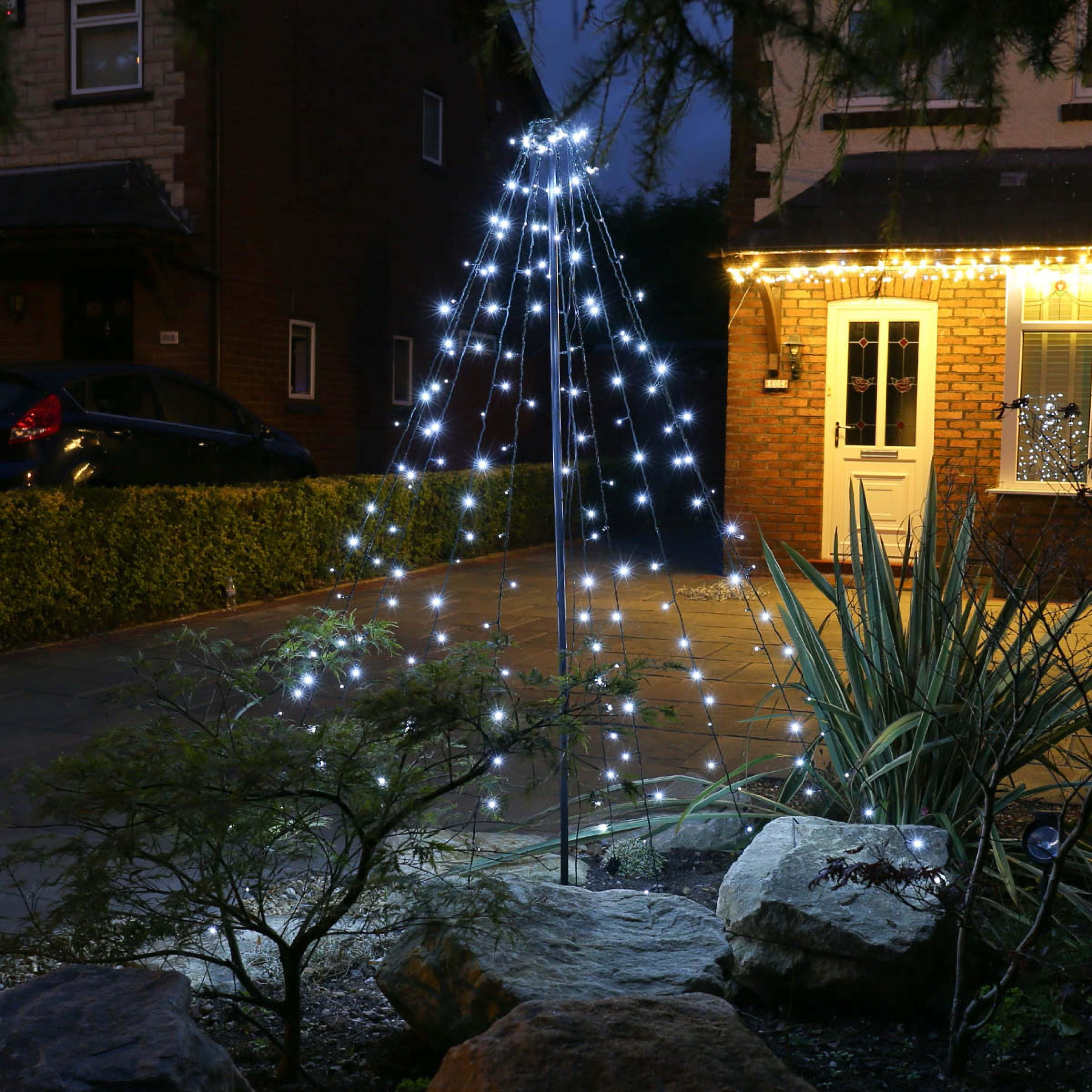 Outdoor Christmas Trees: Buy Now From Festive Lights Within Newest Outdoor Lanterns For Trees (View 13 of 20)
