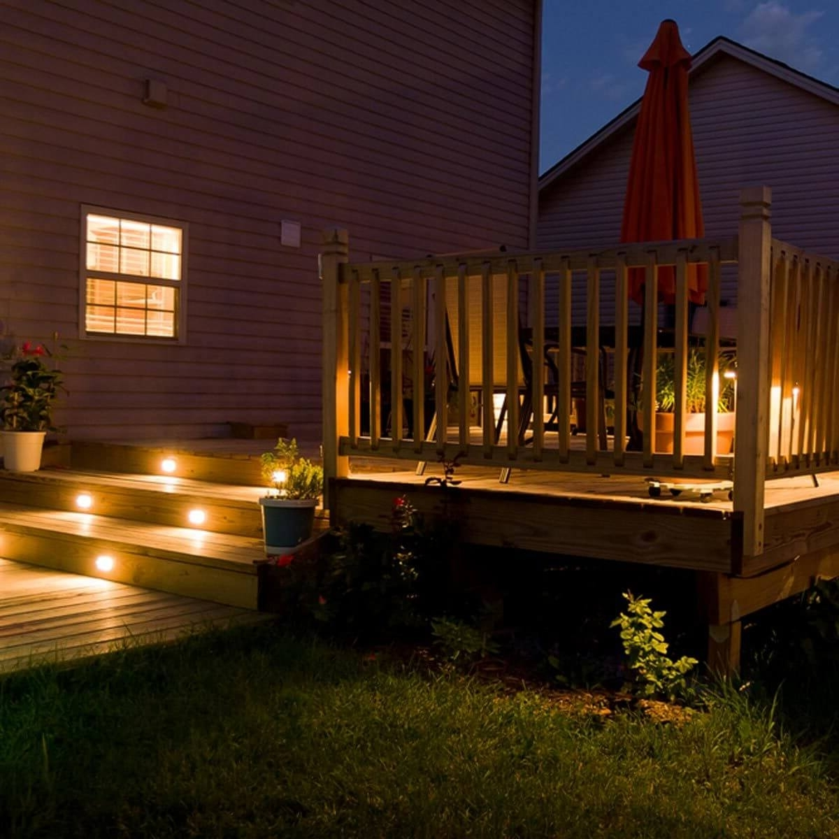Outdoor Deck Lanterns With Recent 12 Ideas For Lighting Up Your Deck — The Family Handyman (View 8 of 20)