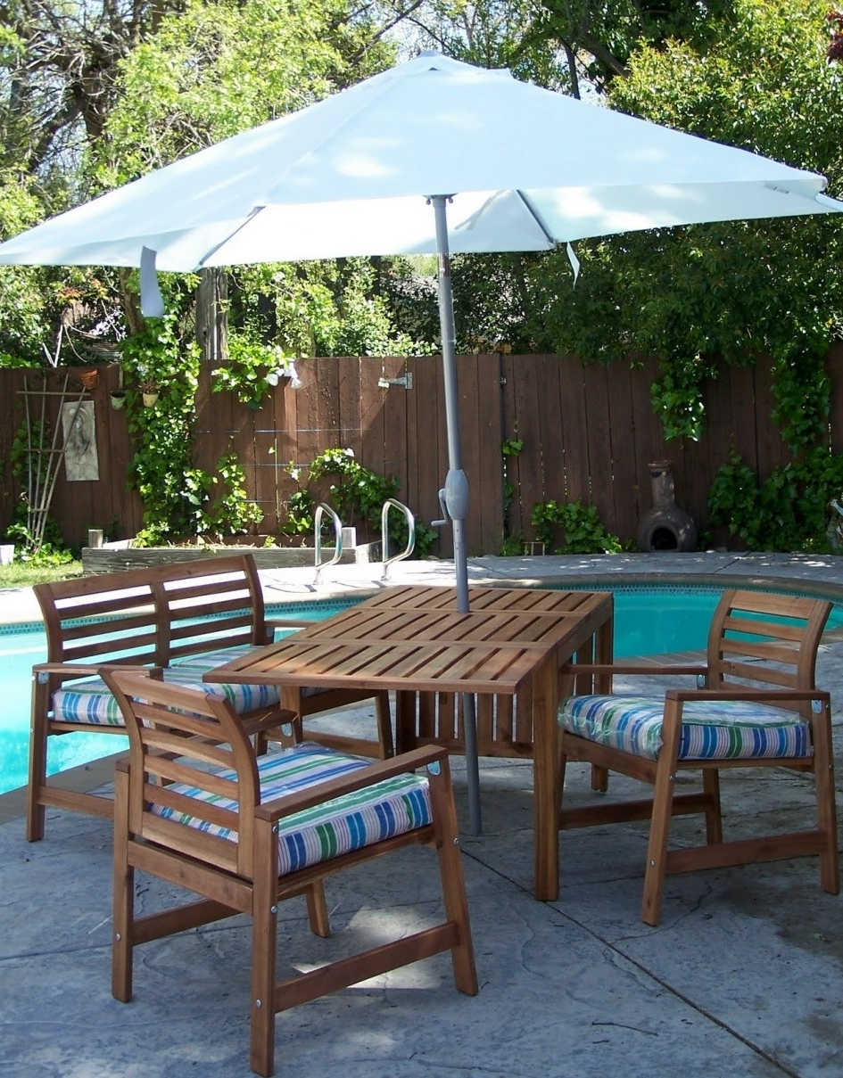 Outdoor Dining Furniture Sale Macys Patio Umbrellas Bar Height For Most Recent Ikea Patio Umbrellas (Gallery 6 of 20)
