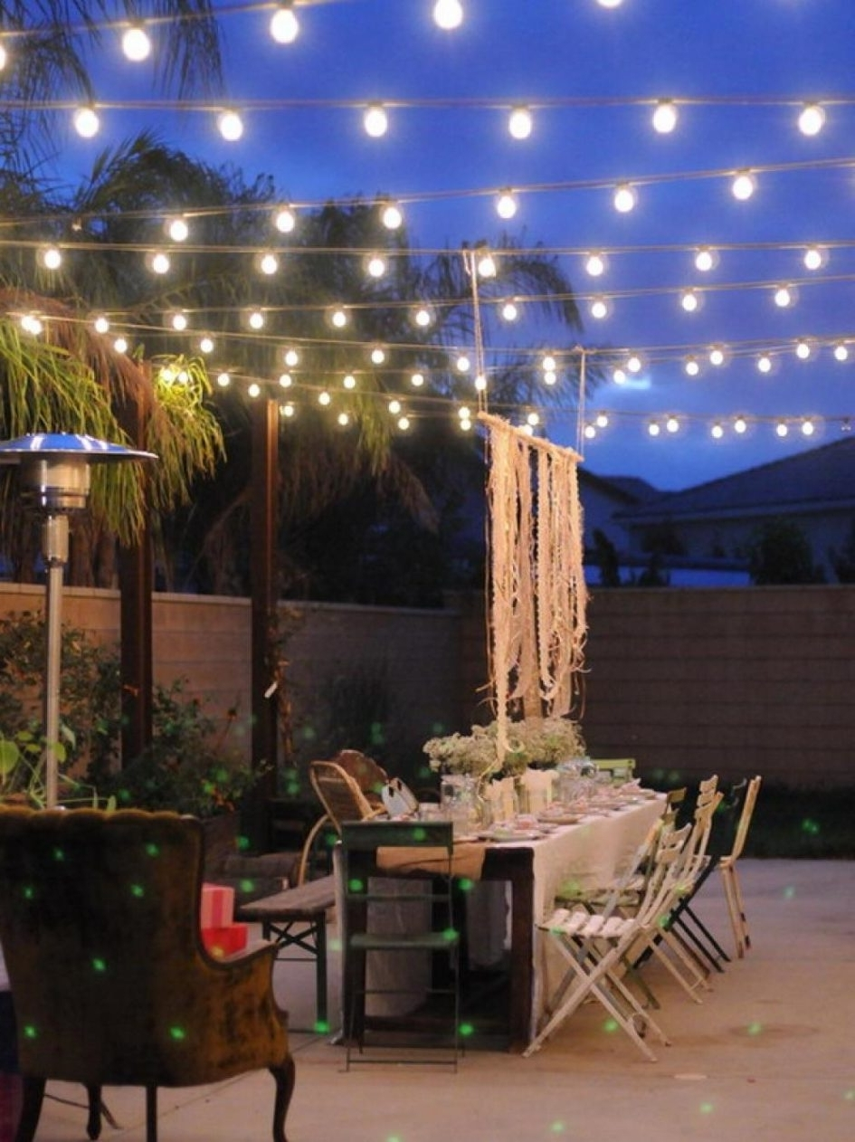 Outdoor Dining Lanterns Pertaining To Well Known Design Of Outdoor Patio Lighting Ideas Lighting Ideas Outdoor (View 11 of 20)