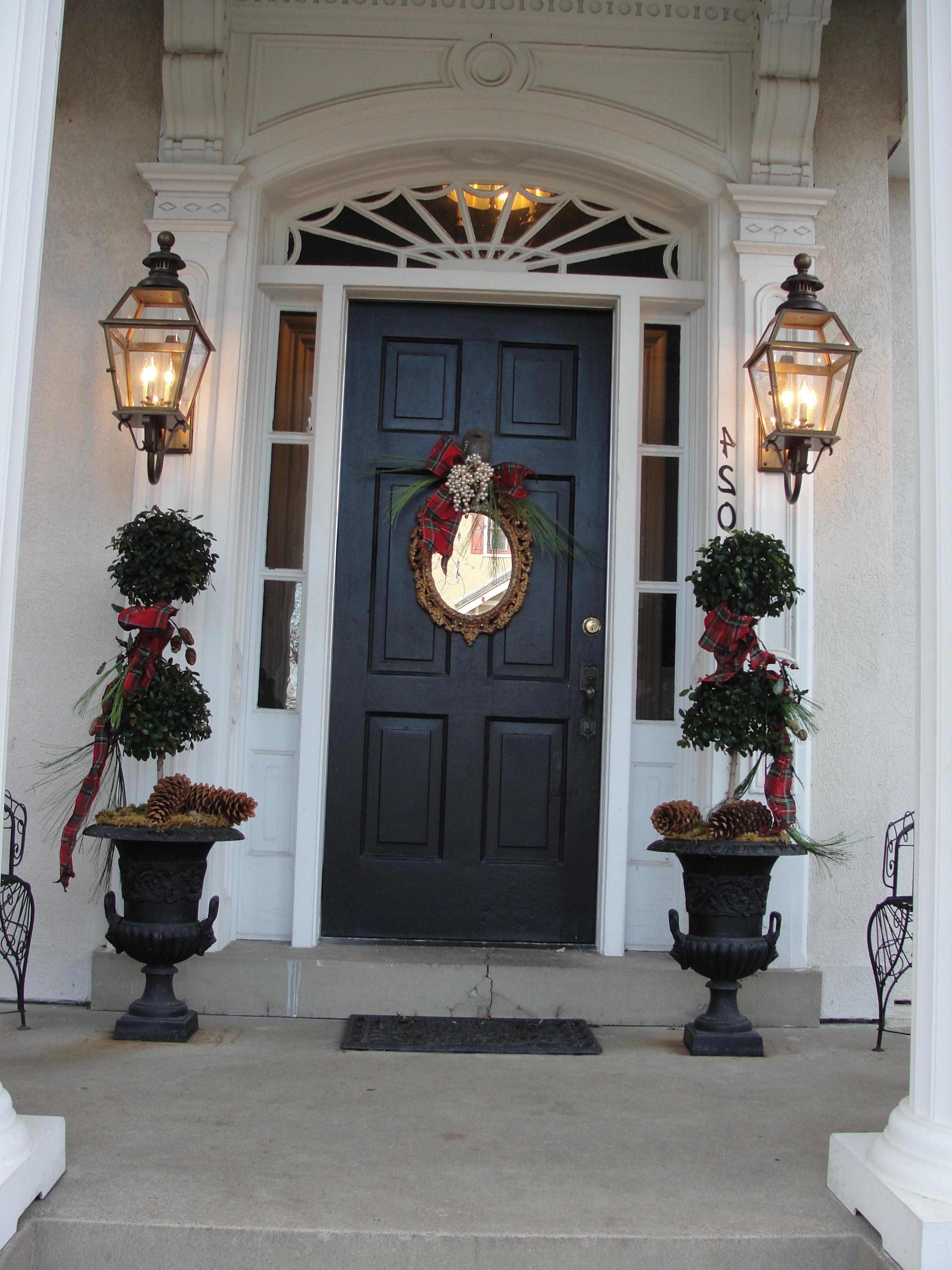 Outdoor Door Lanterns Inside Well Known Exterior (View 2 of 20)