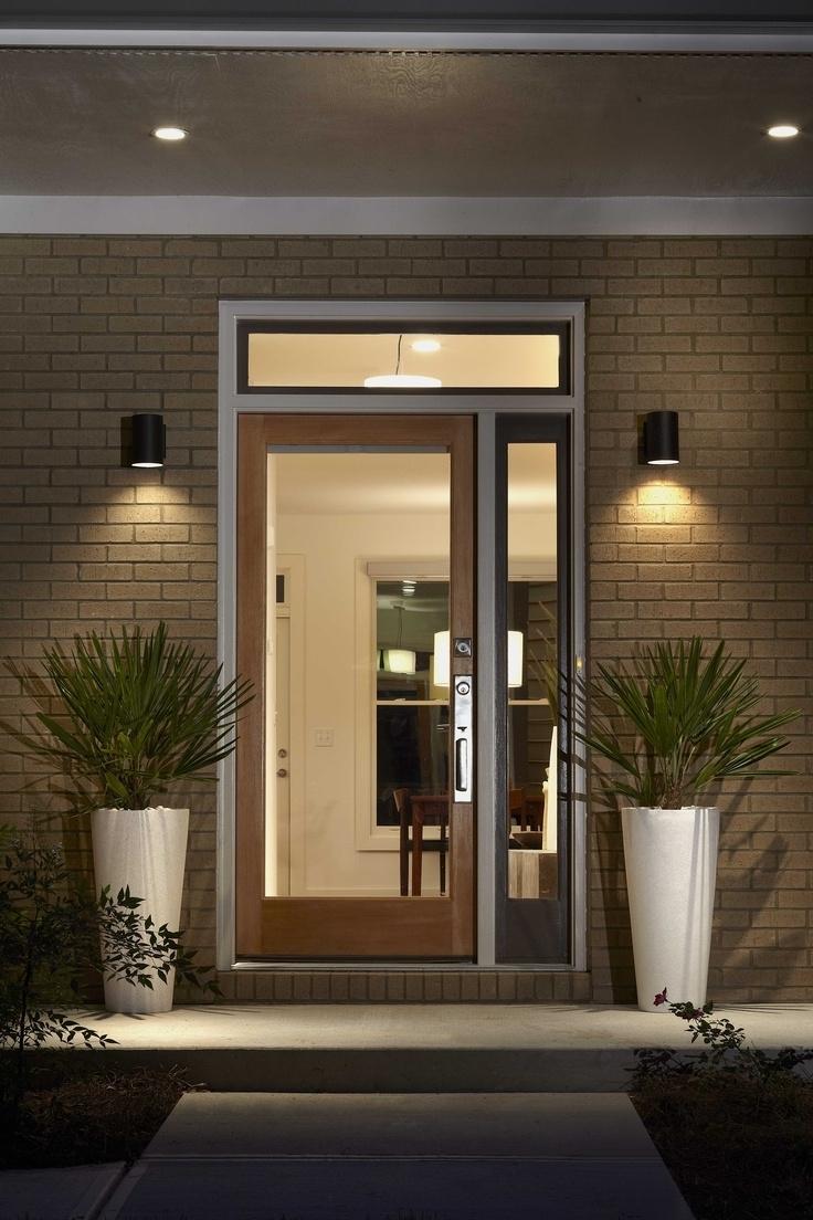 Outdoor Door Lanterns Intended For 2019 House Front Door Lights (View 5 of 20)
