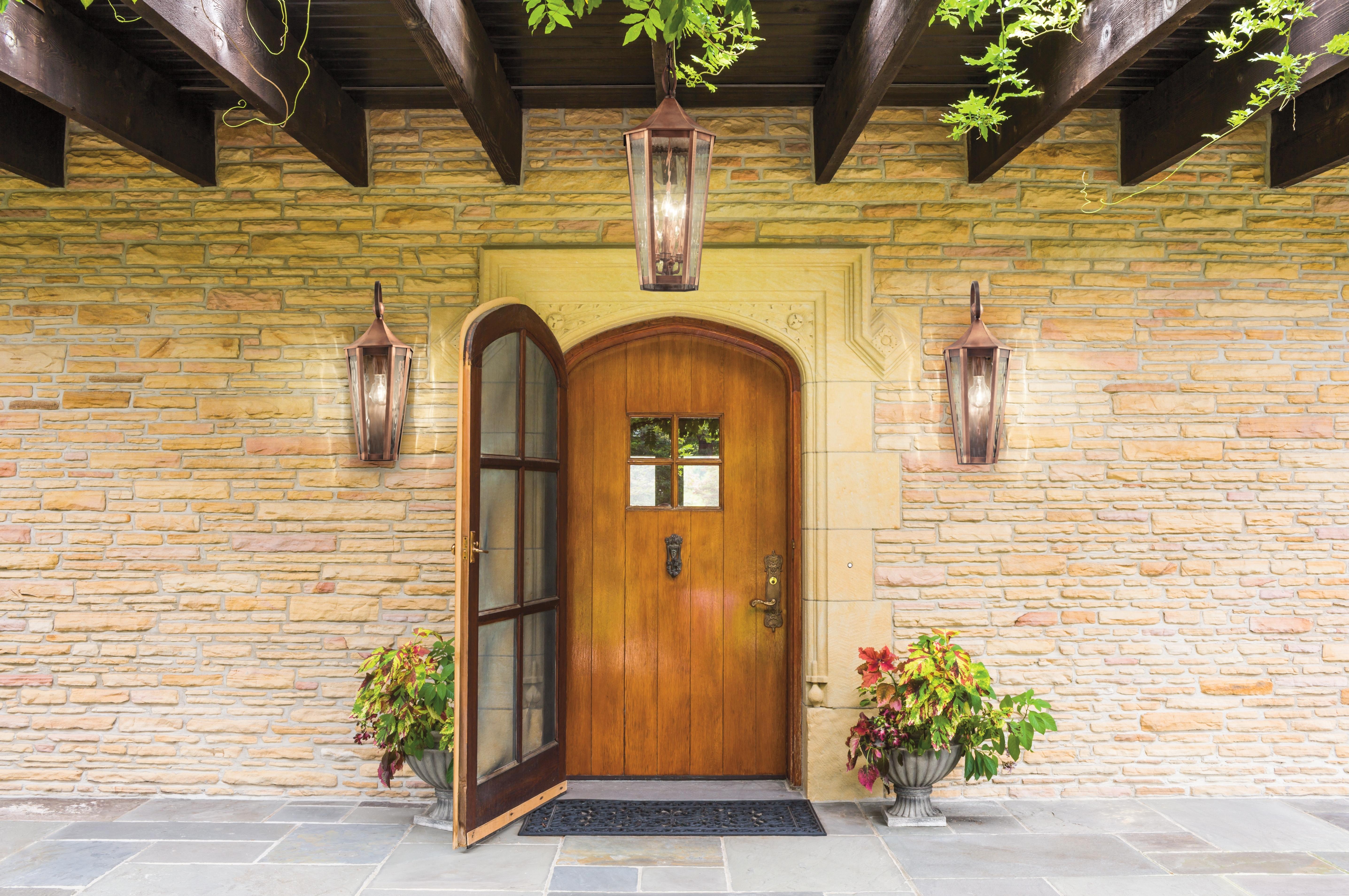 Outdoor Door Lanterns Intended For Popular Craftsman Style Exterior Lighting Helpful Outdoor Front Porch Doors (View 7 of 20)
