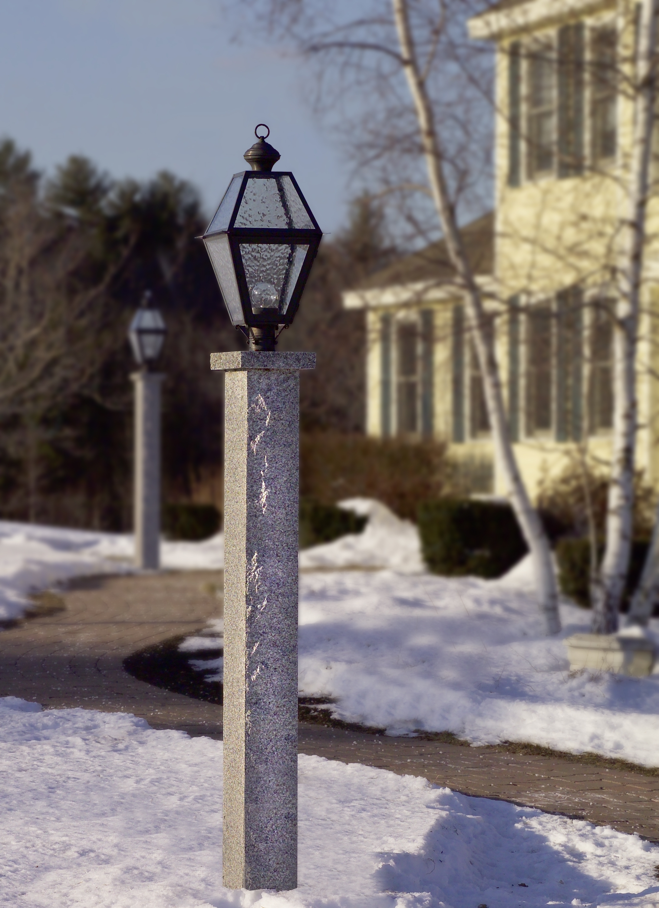 Outdoor Driveway Lanterns Throughout Most Popular Lamp : Lamp Post Prop Seven Productions Driveway Lanterns Light (View 8 of 20)
