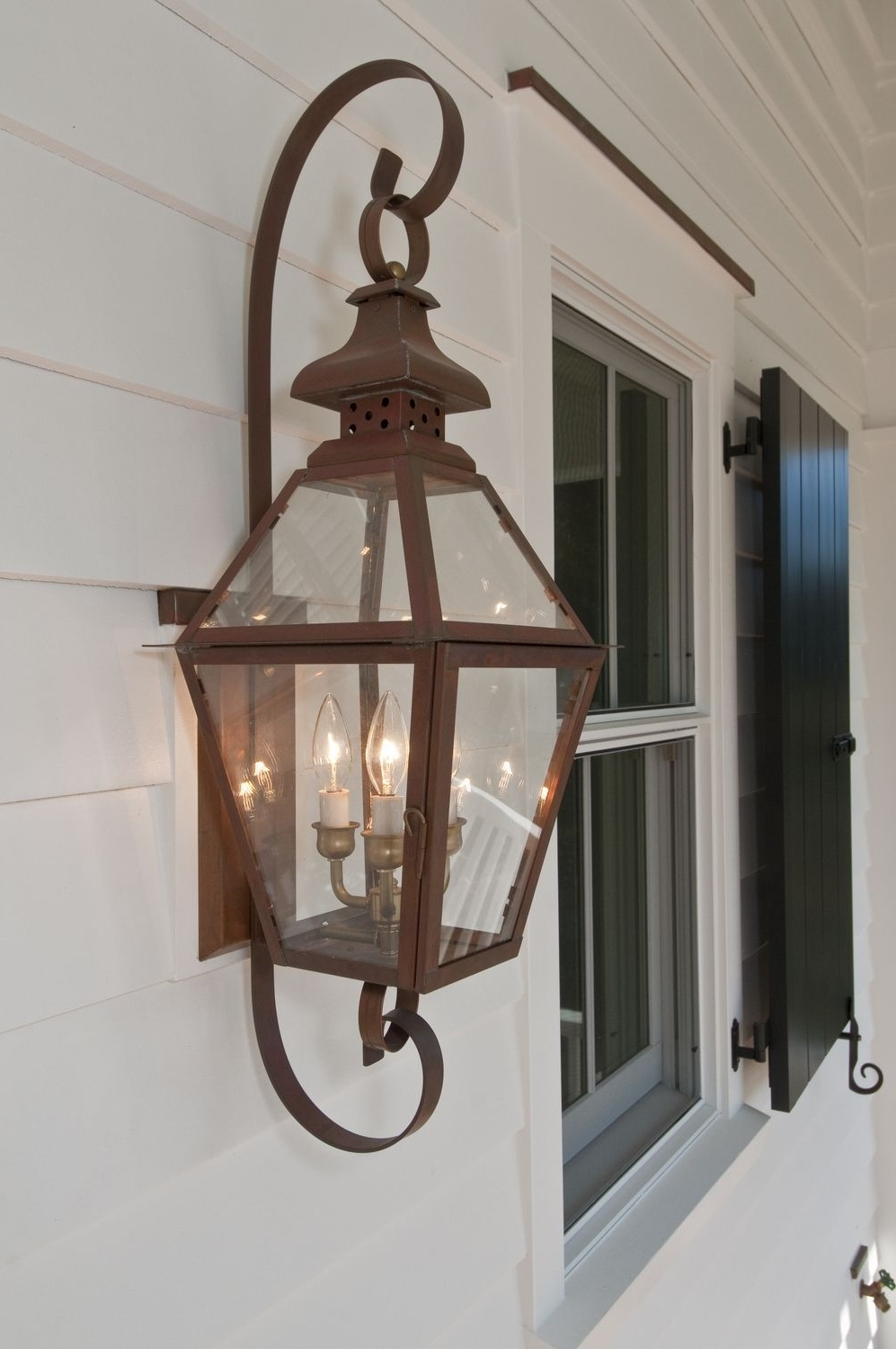 Outdoor Electric Lanterns In Favorite The Tradd Street Ii Lantern — Gas Or Electric (View 12 of 20)