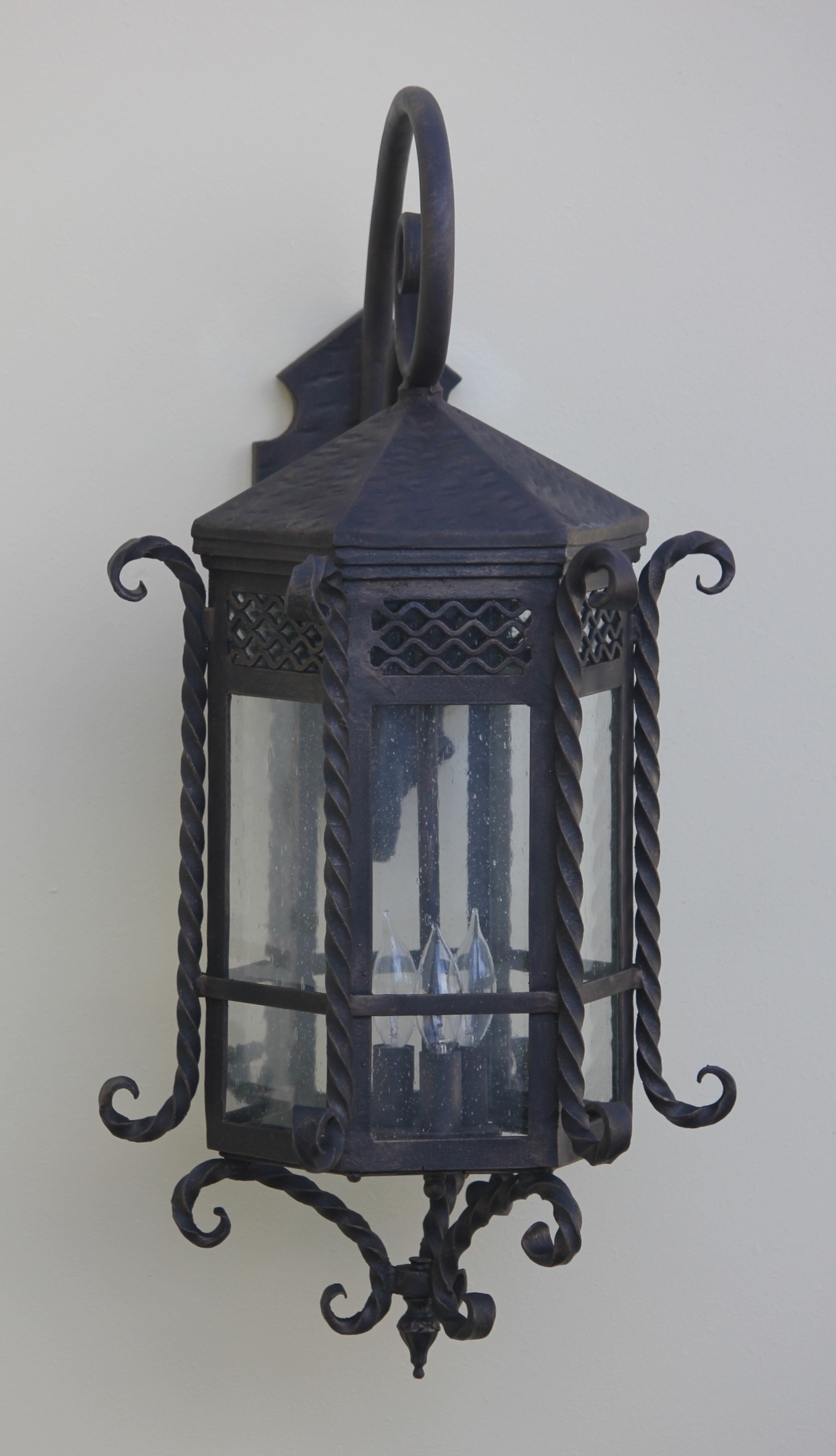 Outdoor Exterior Lanterns Regarding Latest Lights Of Tuscany 7017 3 Spanish Style Outdoor Lantern/ Exterior (View 15 of 20)