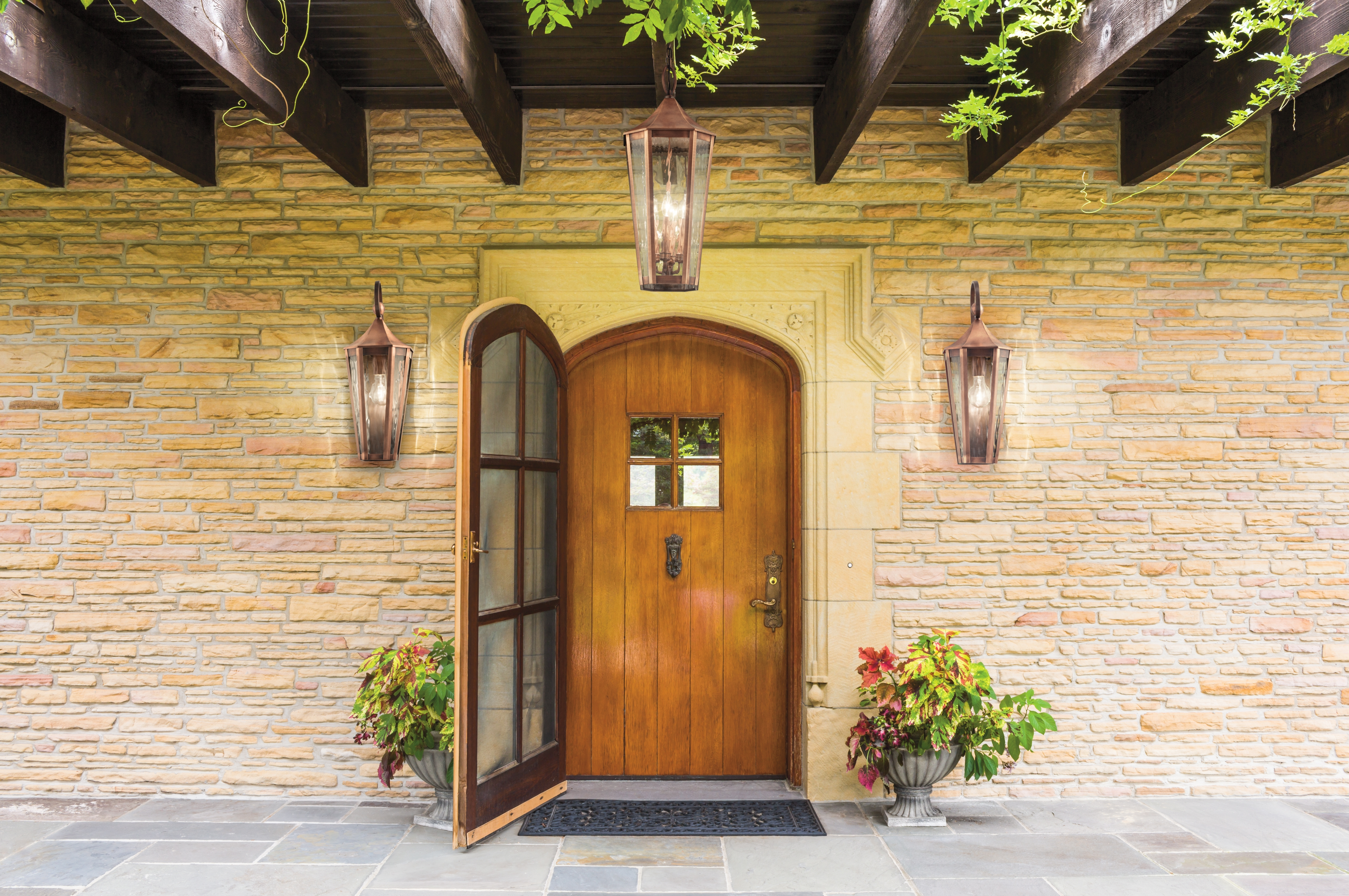 Outdoor Front Porch Lights – Outdoor Lighting Ideas Within Well Liked Outdoor Lanterns For Front Door (View 9 of 20)