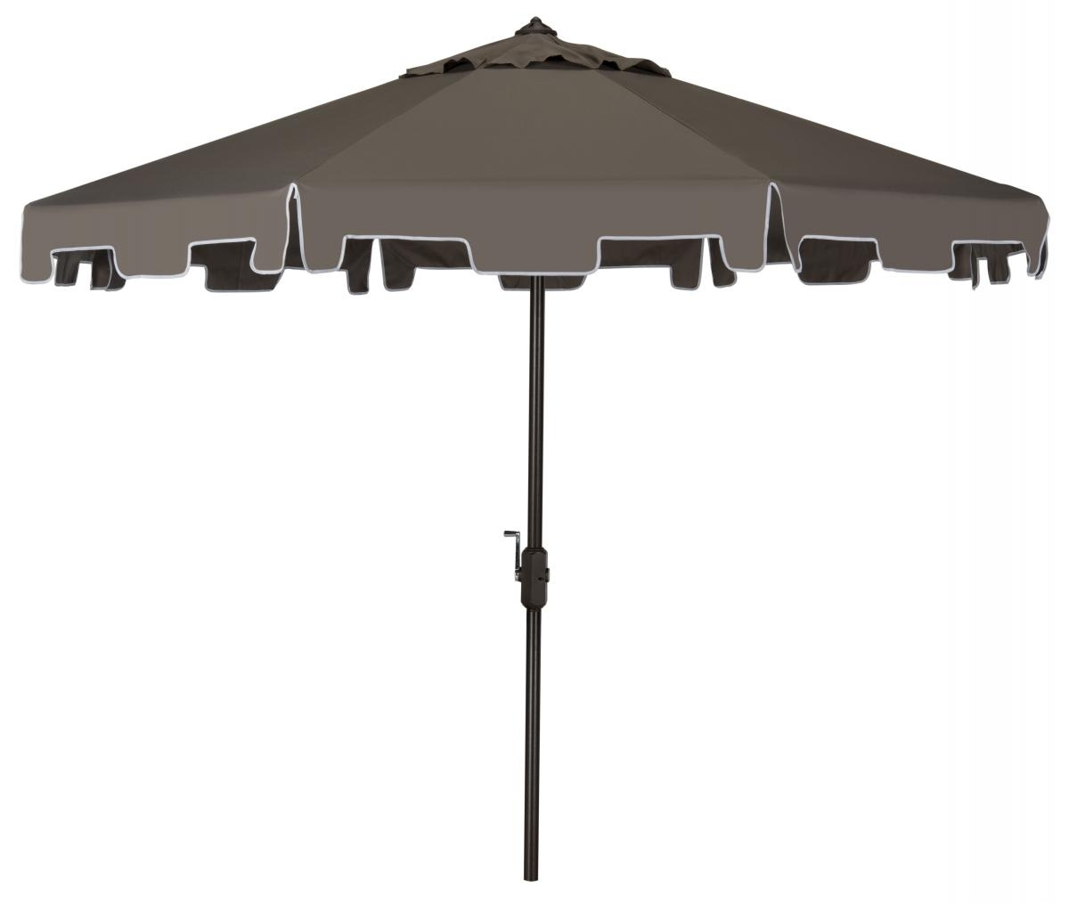 Outdoor Furniture – Safavieh For 2019 Grey Patio Umbrellas (Gallery 7 of 20)