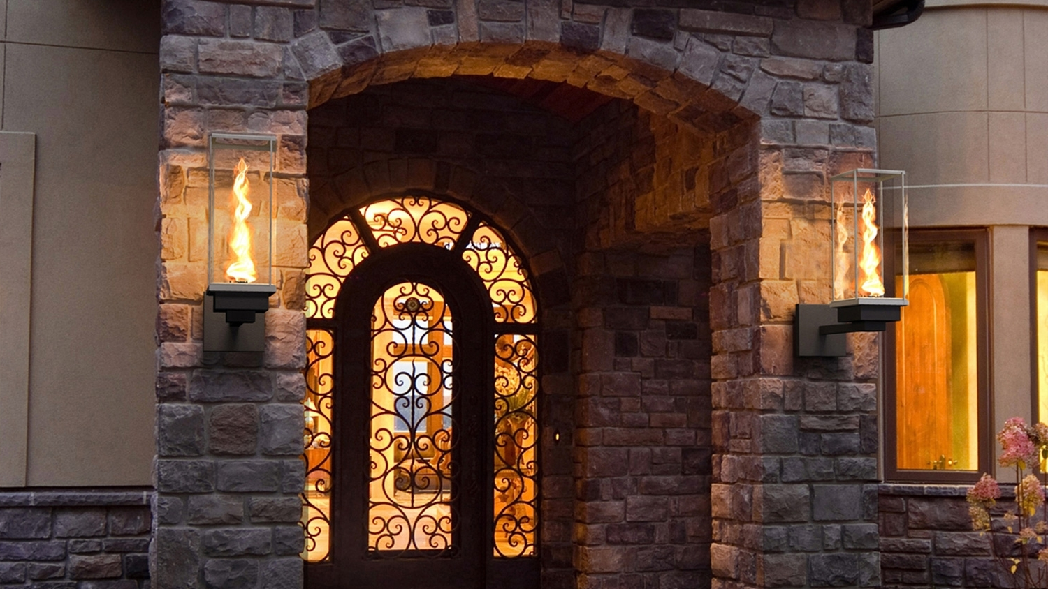 Outdoor Gas Lanterns Regarding Widely Used Tempest Torch – Outdoor Gas Lamps And Lighting (View 2 of 20)