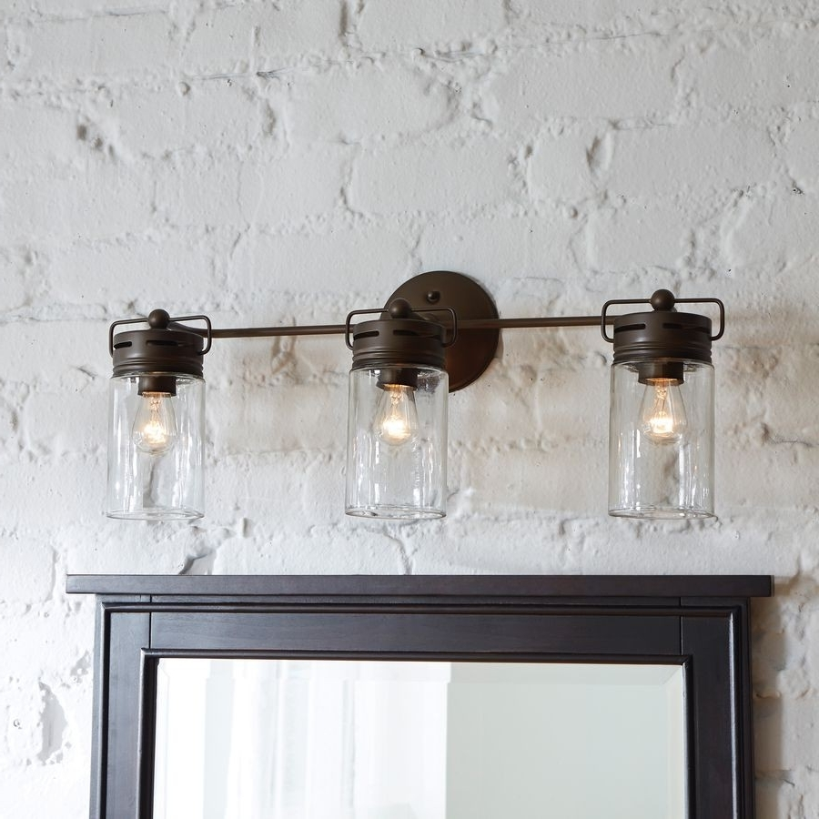 Outdoor Gel Lanterns For Most Up To Date Rustic Bathroom Wall Sconce Cabin Lights Lighting Unique Vanity (View 9 of 20)