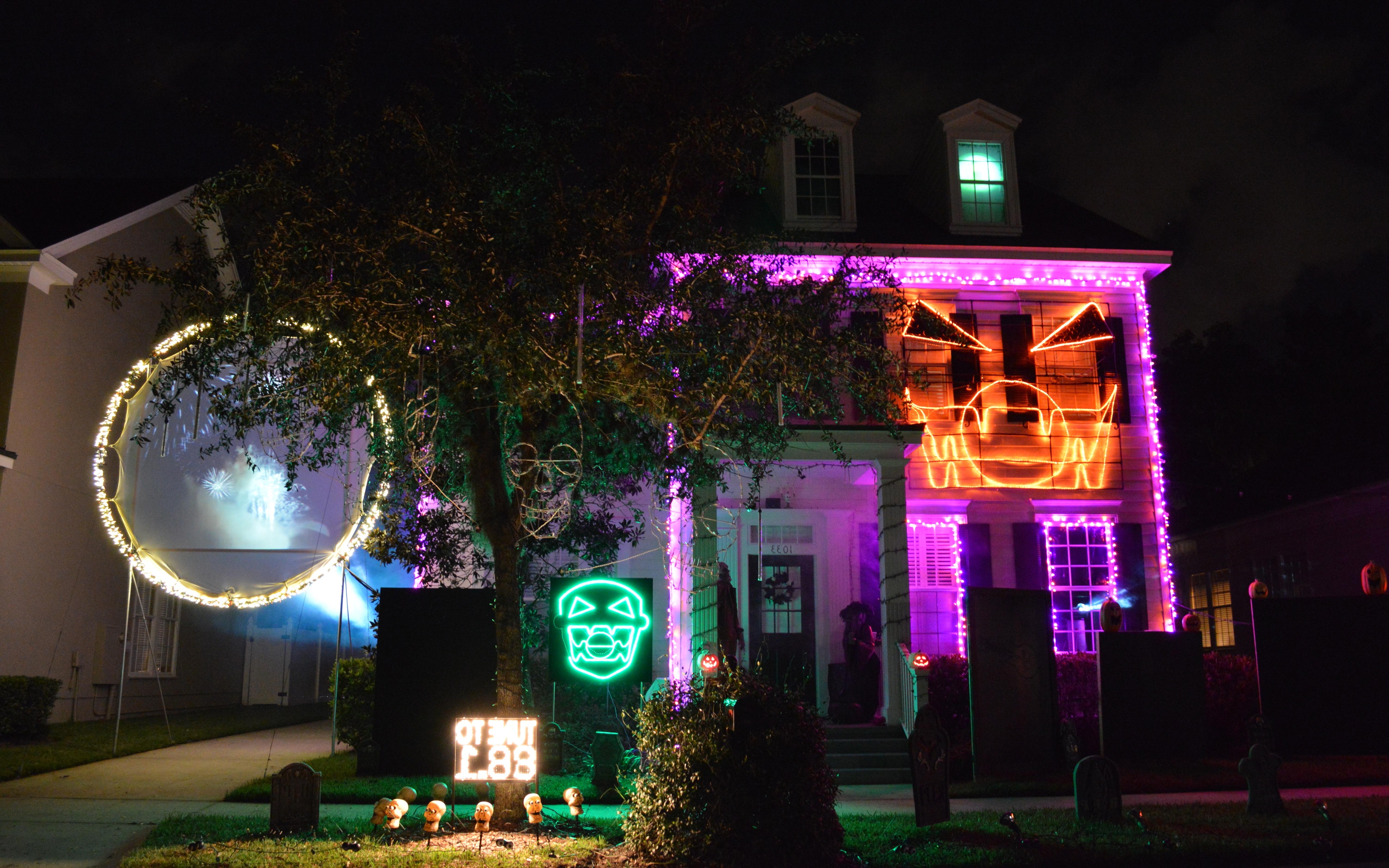 Outdoor Halloween Lanterns Inside Popular Chloe's Inspiration ~ Halloween Outdoor Decorations In Celebration (View 3 of 20)