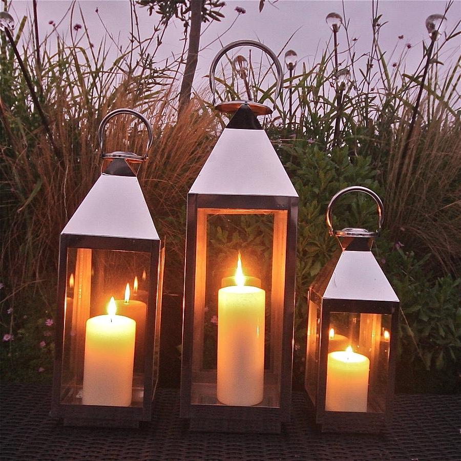 Outdoor Indian Lanterns Inside Preferred St Mawes Hurricane Garden Lanternlondon Garden Trading (View 19 of 20)