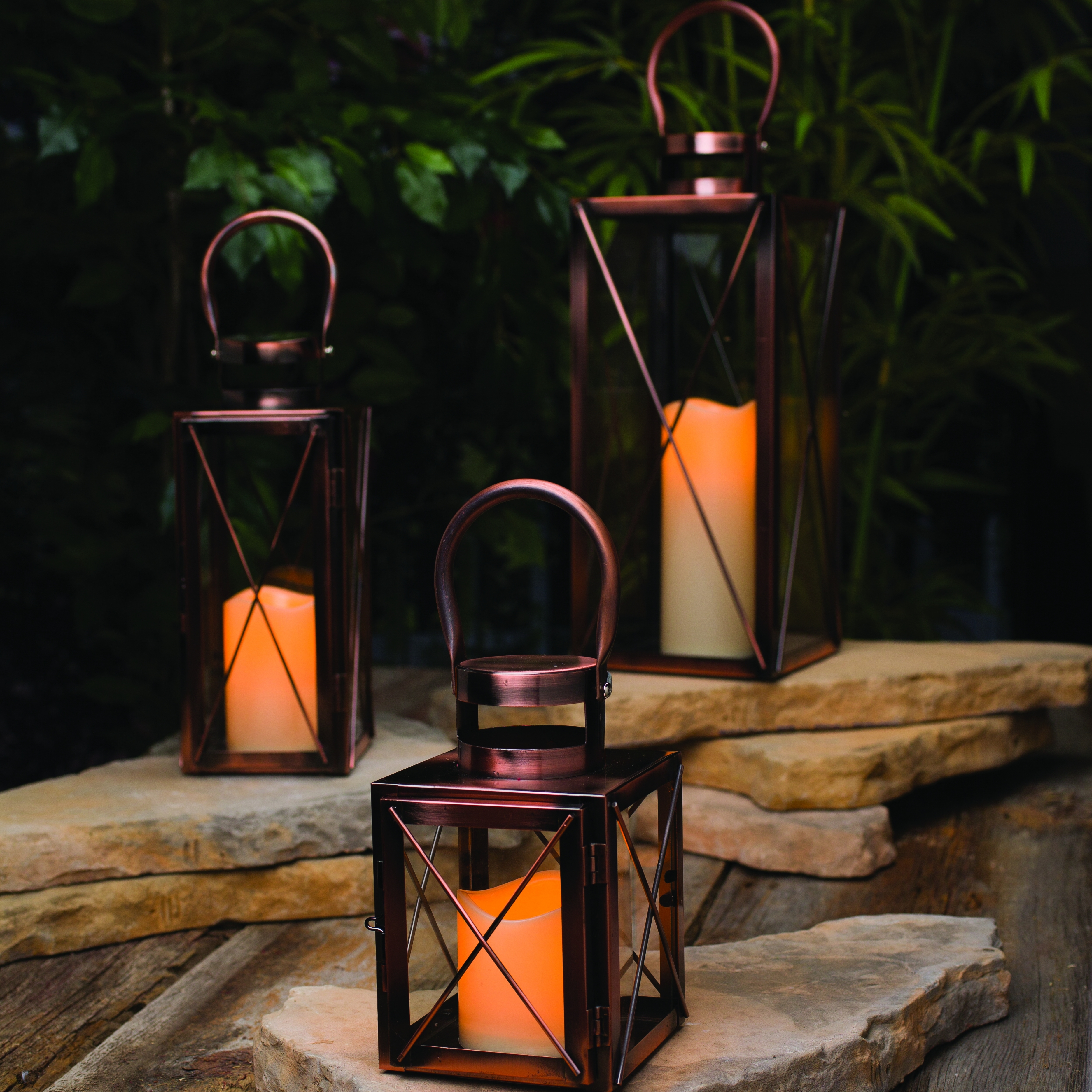 Outdoor Lanterns And Candles Within Fashionable Lighting: Brighten Up Your Space With Stunning Candle Lanterns (View 13 of 20)