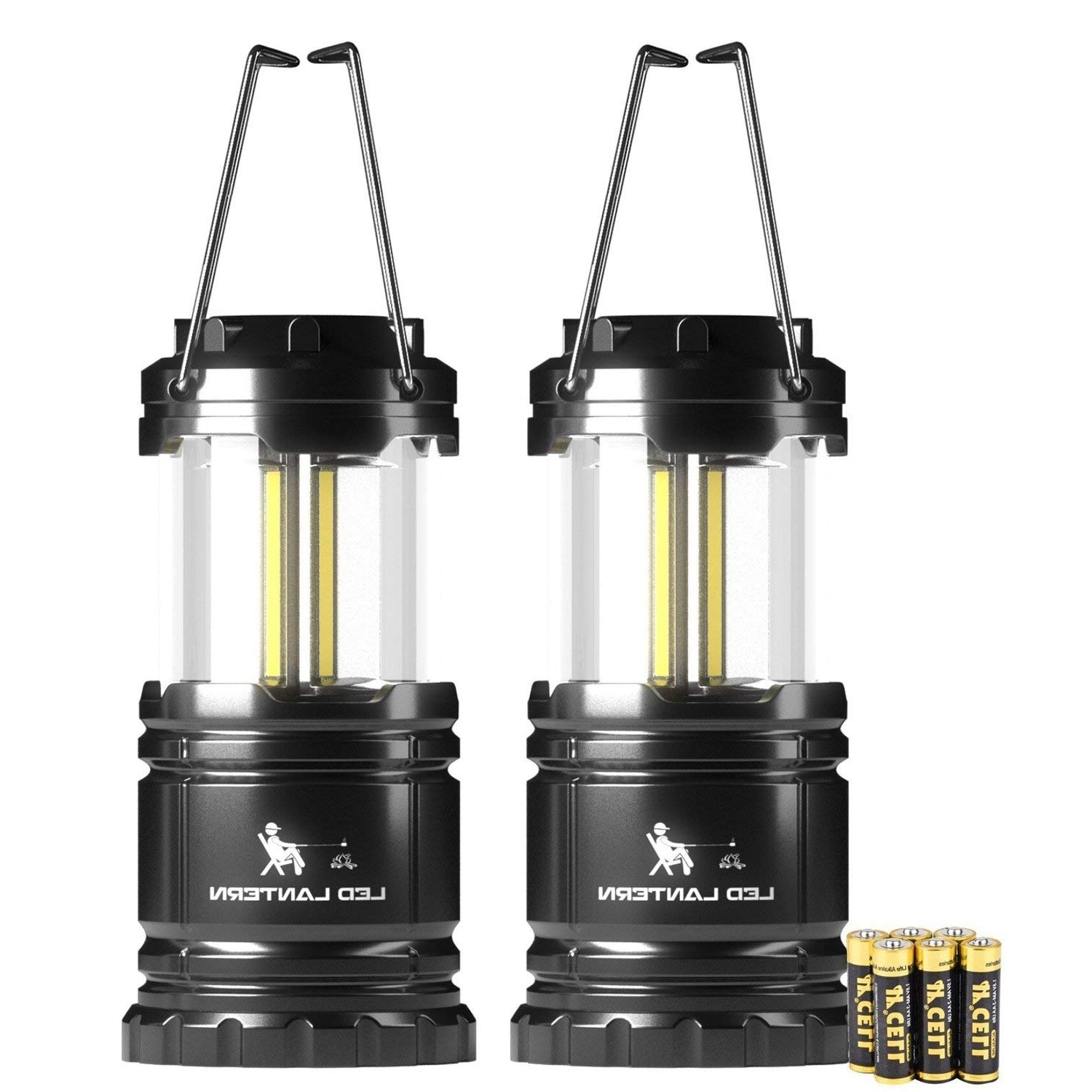 Outdoor Lanterns At Amazon For Most Up To Date 350 Lumen Portable Outdoor Lights, Only $ (View 7 of 20)