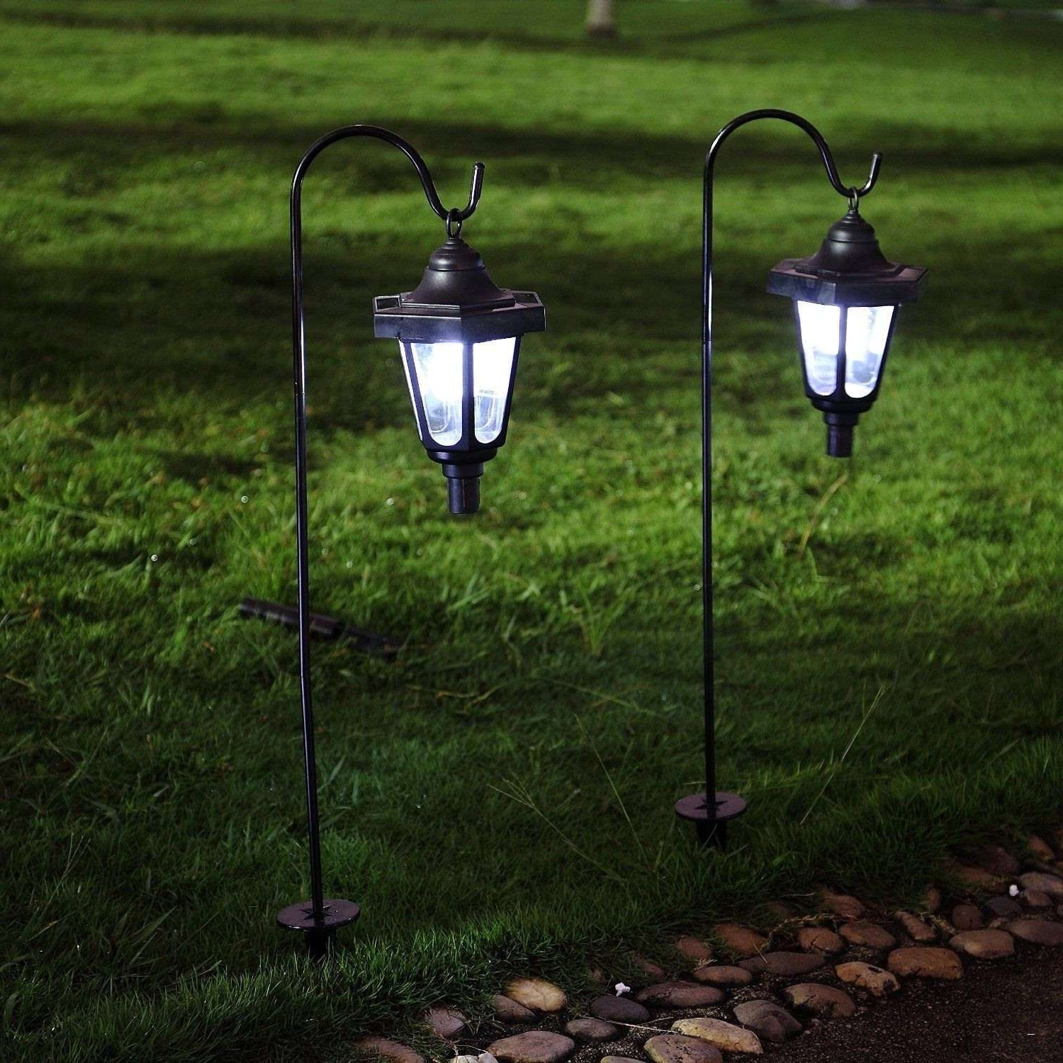 Outdoor Lanterns At Amazon Throughout 2019 Solar Outdoor Lanterns Amazon With Powered Garden Lights Reviews (View 10 of 20)