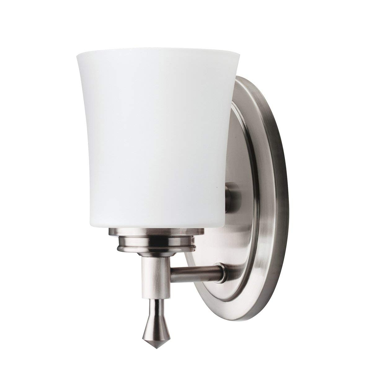 Outdoor Lanterns At Bunnings In Famous Kichler Wharton Wall Sconce Light Brushed Nickel Vanity Lighting (View 9 of 20)
