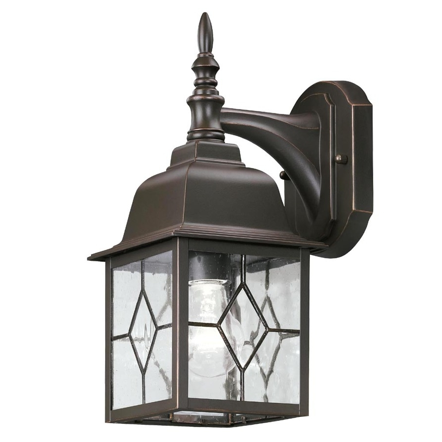 Outdoor Lanterns At Lowes With Regard To 2019 Lowes Outdoor Lighting Led Wall Lights With Motion Sensor Light (View 12 of 20)