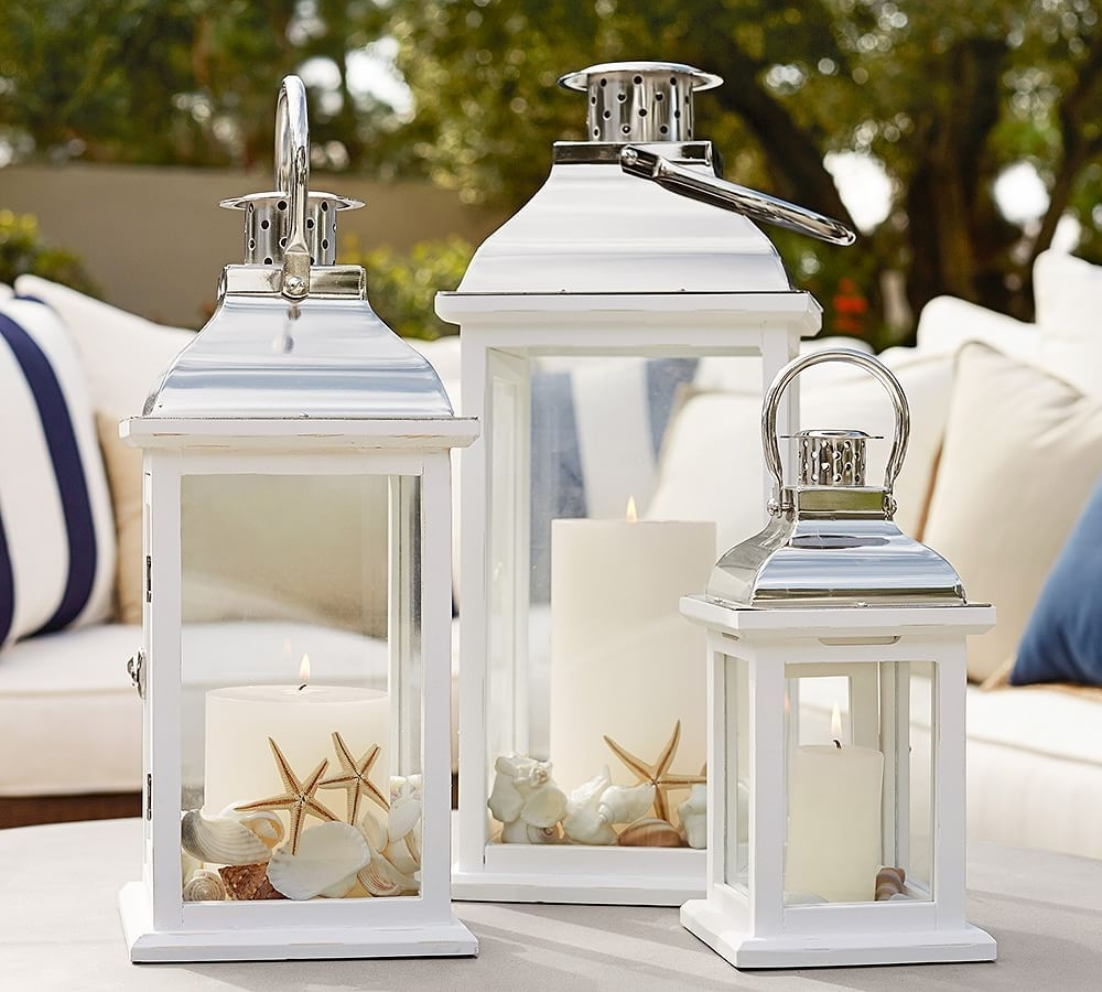 Outdoor Lanterns At Pottery Barn With Newest Bristol Lantern (View 11 of 20)