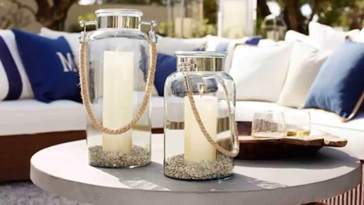 Outdoor Lanterns Decors Throughout Trendy Outdoor Lanterns And Candles For Outdoor Coffee Table Decor (View 15 of 20)