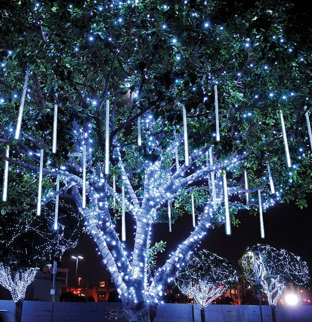 Outdoor Lanterns For Christmas Throughout Newest Landscape Tree Lighting Decorating Outdoor Trees Easy Christmas (View 9 of 20)