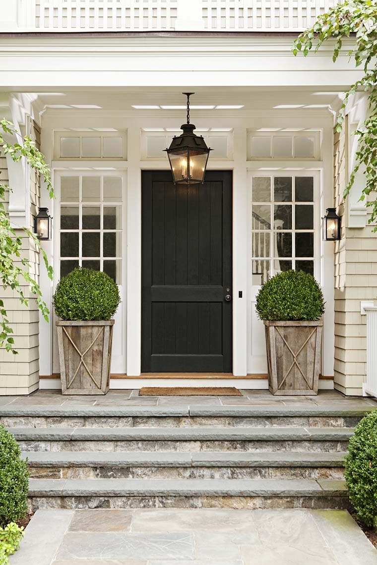 Outdoor Lanterns For Front Door Within Widely Used Front Door Lighting Tips – Kristywicks (View 10 of 20)