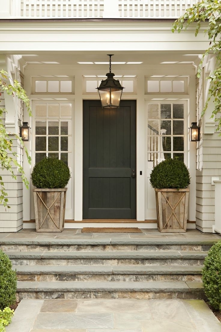Outdoor Lanterns For Front Porch With Most Recent Decorating With Outdoor Lanterns, Patio Furniture, Plants And The (View 4 of 20)