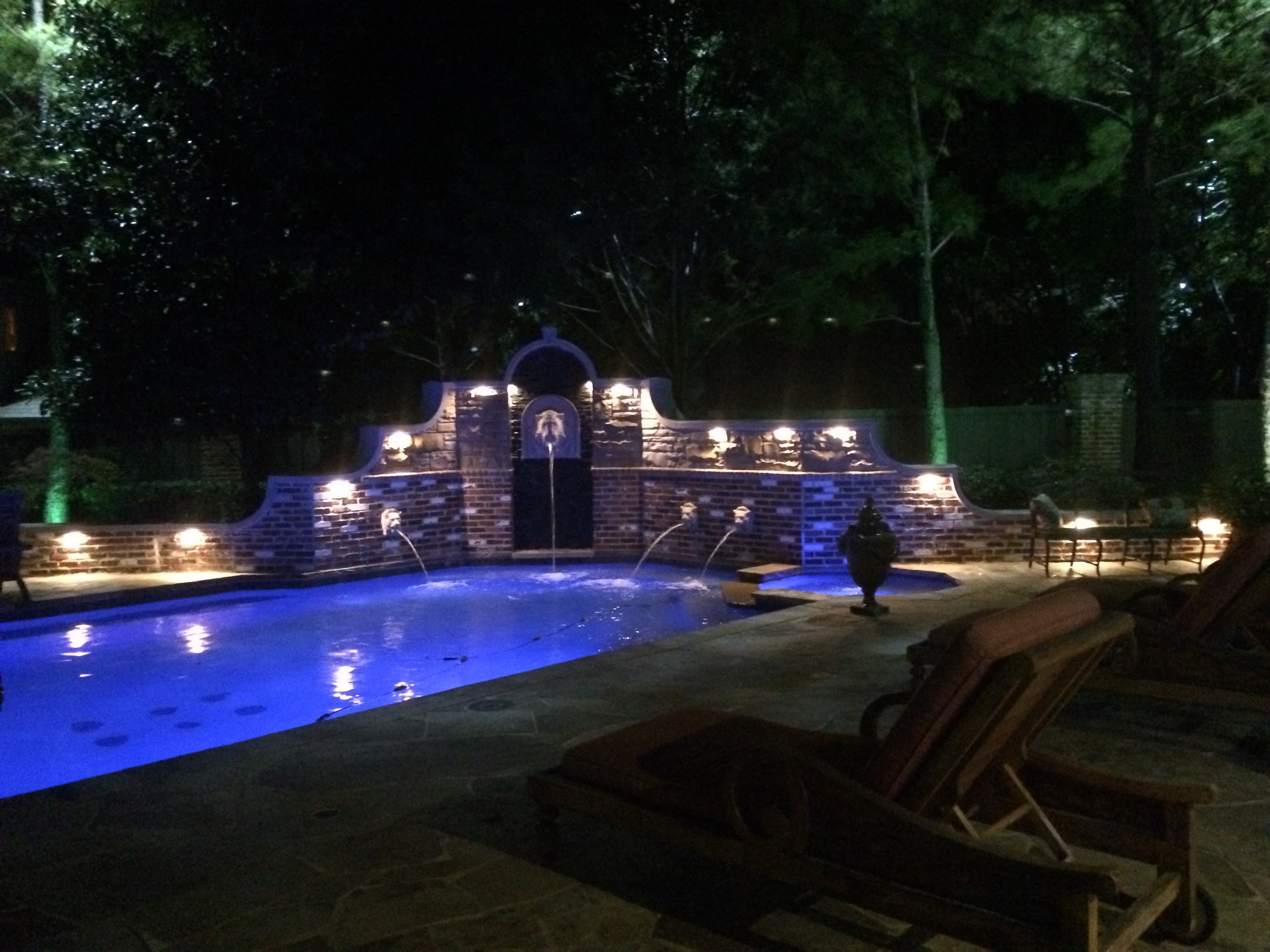 Outdoor Lanterns For Poolside Intended For Latest Frisco Landscape Lighting (View 11 of 20)