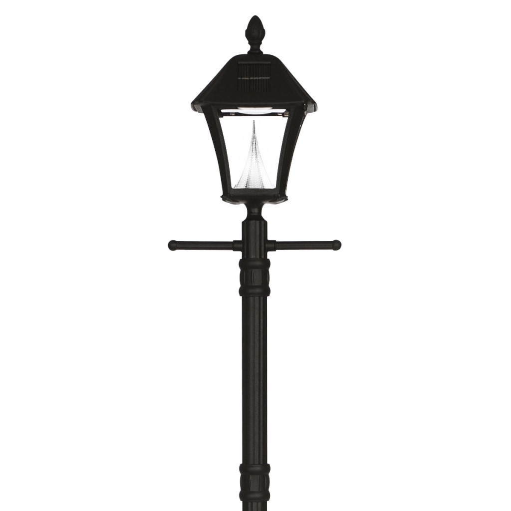 Outdoor Lanterns For Posts In Most Current Solar Outdoor Lamp Post — Elmonic (View 10 of 20)