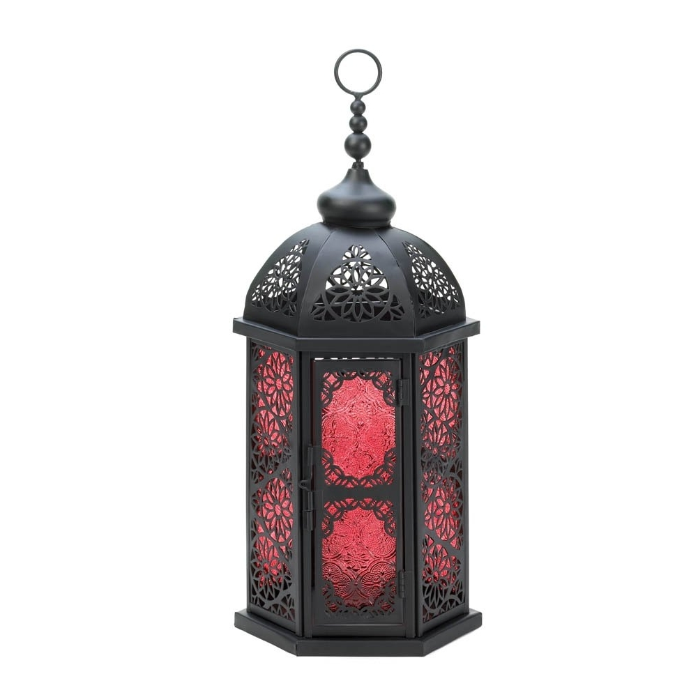Outdoor Lanterns For Tables Intended For Well Known Moroccan Lantern Lamp, Large Decorative Outdoor Lanterns Table Lamp (View 14 of 20)