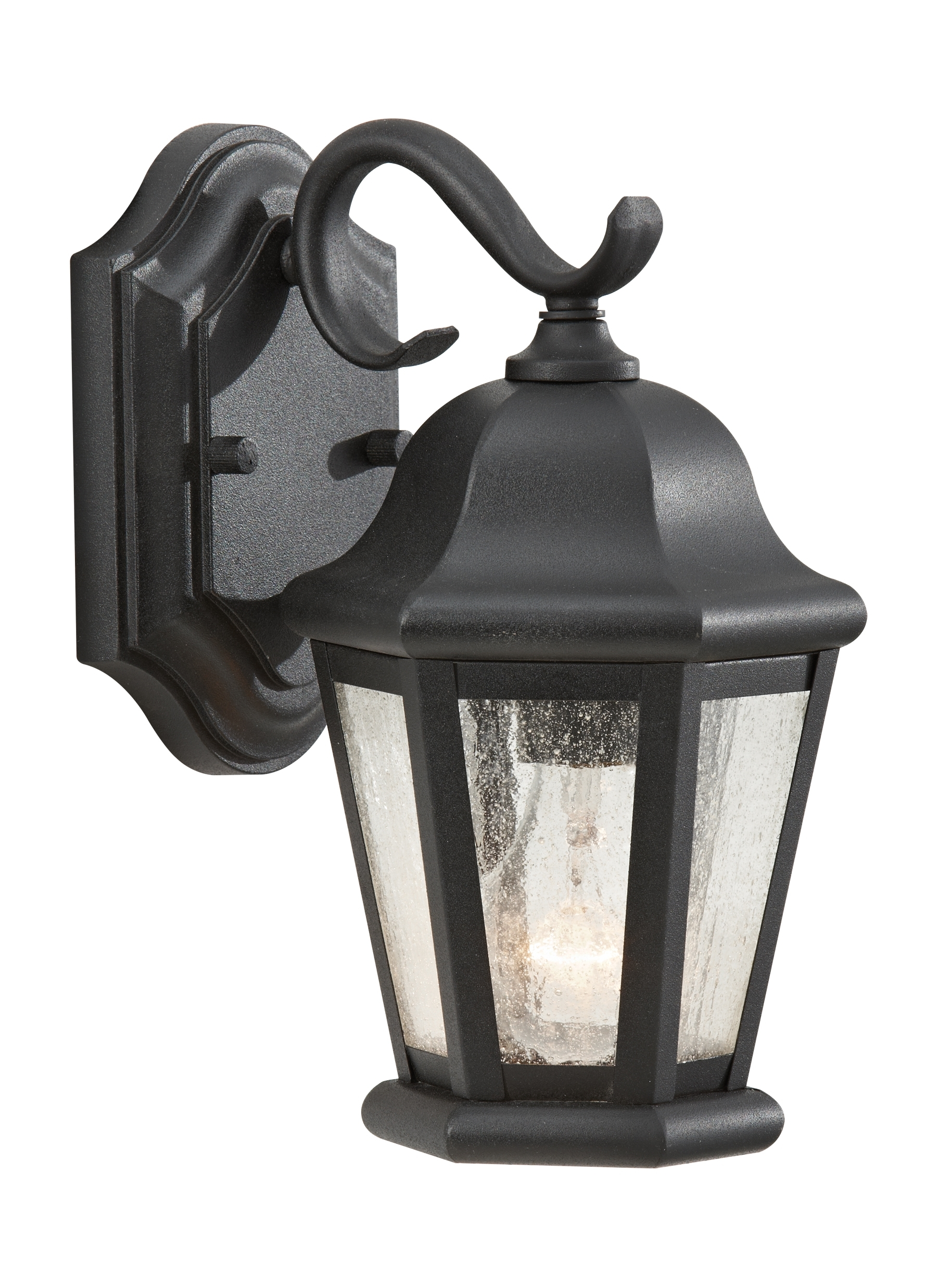 Outdoor Lanterns Lights In Well Liked Ol5900bk,1 Light Outdoor Lantern,black (View 19 of 20)