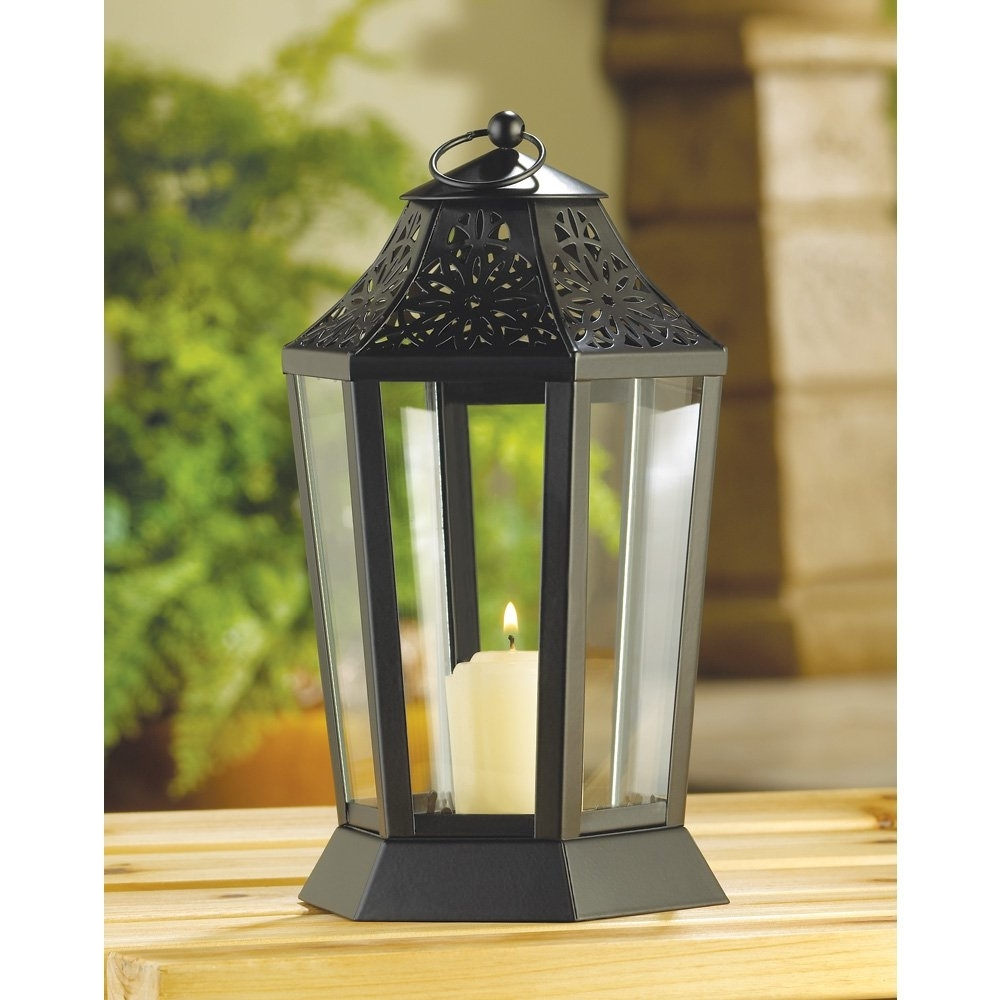 Outdoor Lanterns On Stands Inside Fashionable Outdoor Candle Holder – Image Antique And Candle Victimassist (View 14 of 20)
