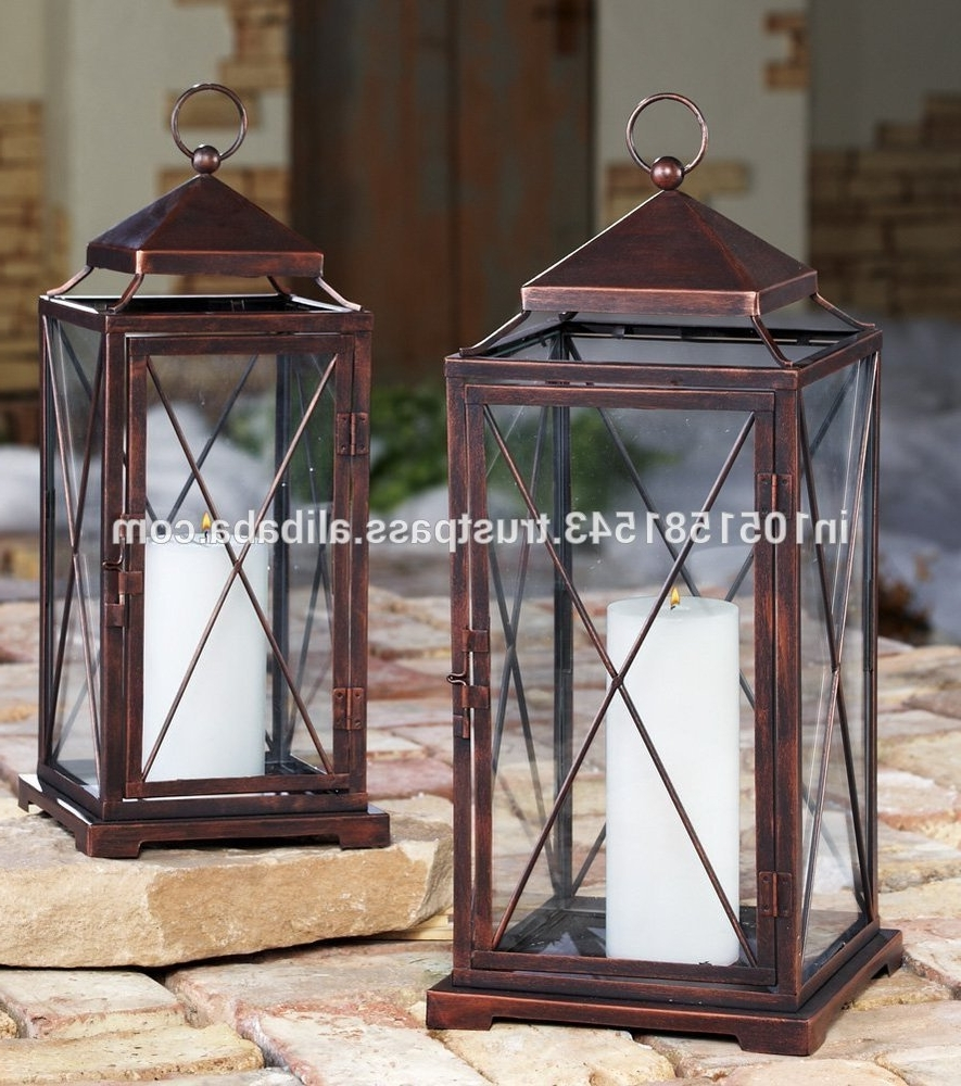 Outdoor Lanterns With Candles In Well Known House : Hanging Candle Lanterns Hanging Candle Lanterns For Outdoor (View 13 of 20)