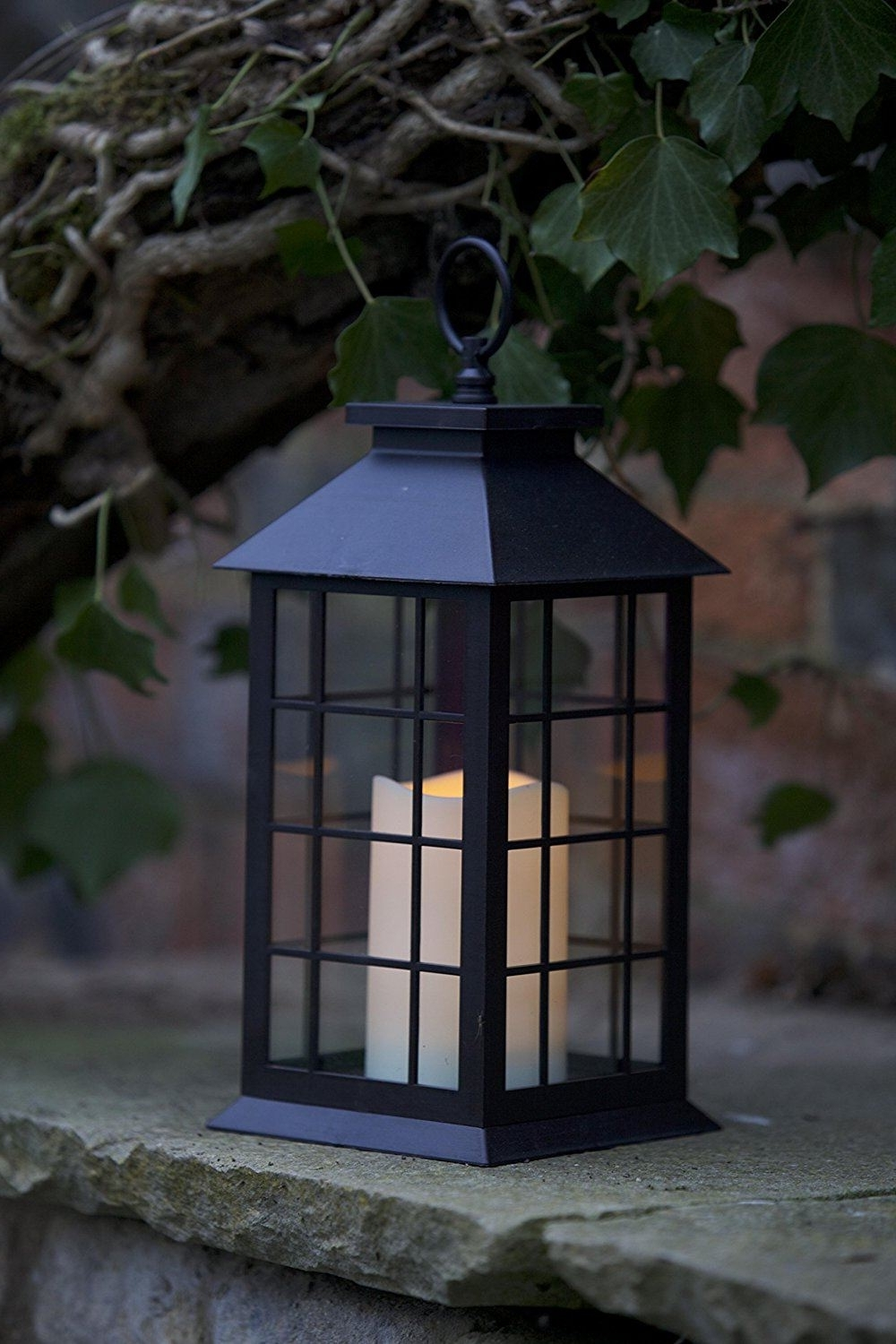 Outdoor Lanterns With Led Candles With Most Recent Crazygadget® Battery Operated Lantern Led Candle Indoor Outdoor Lamp (View 10 of 20)