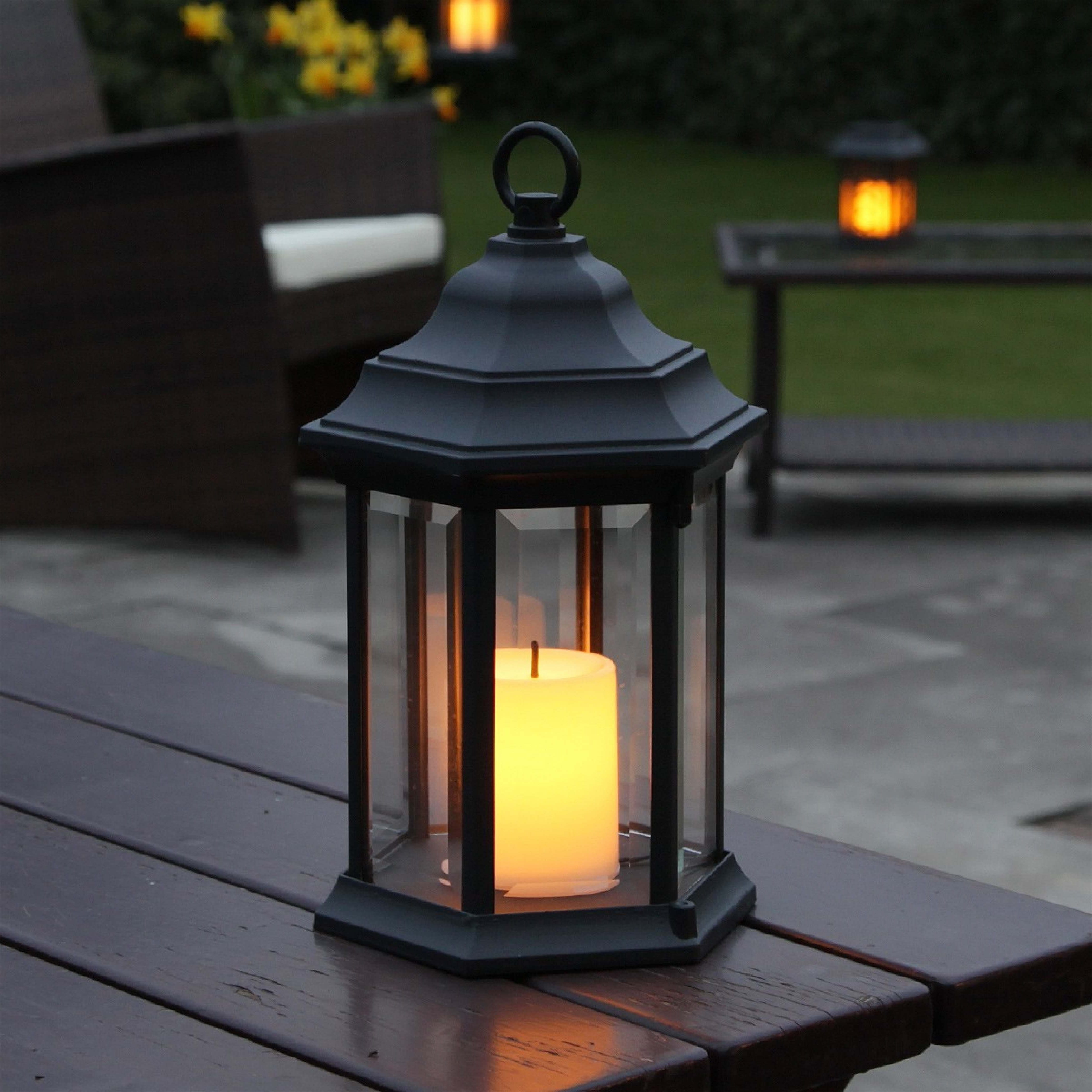 Outdoor Lanterns With Timers Regarding Preferred Outdoor Lanterns With Timers (Gallery 8 of 20)
