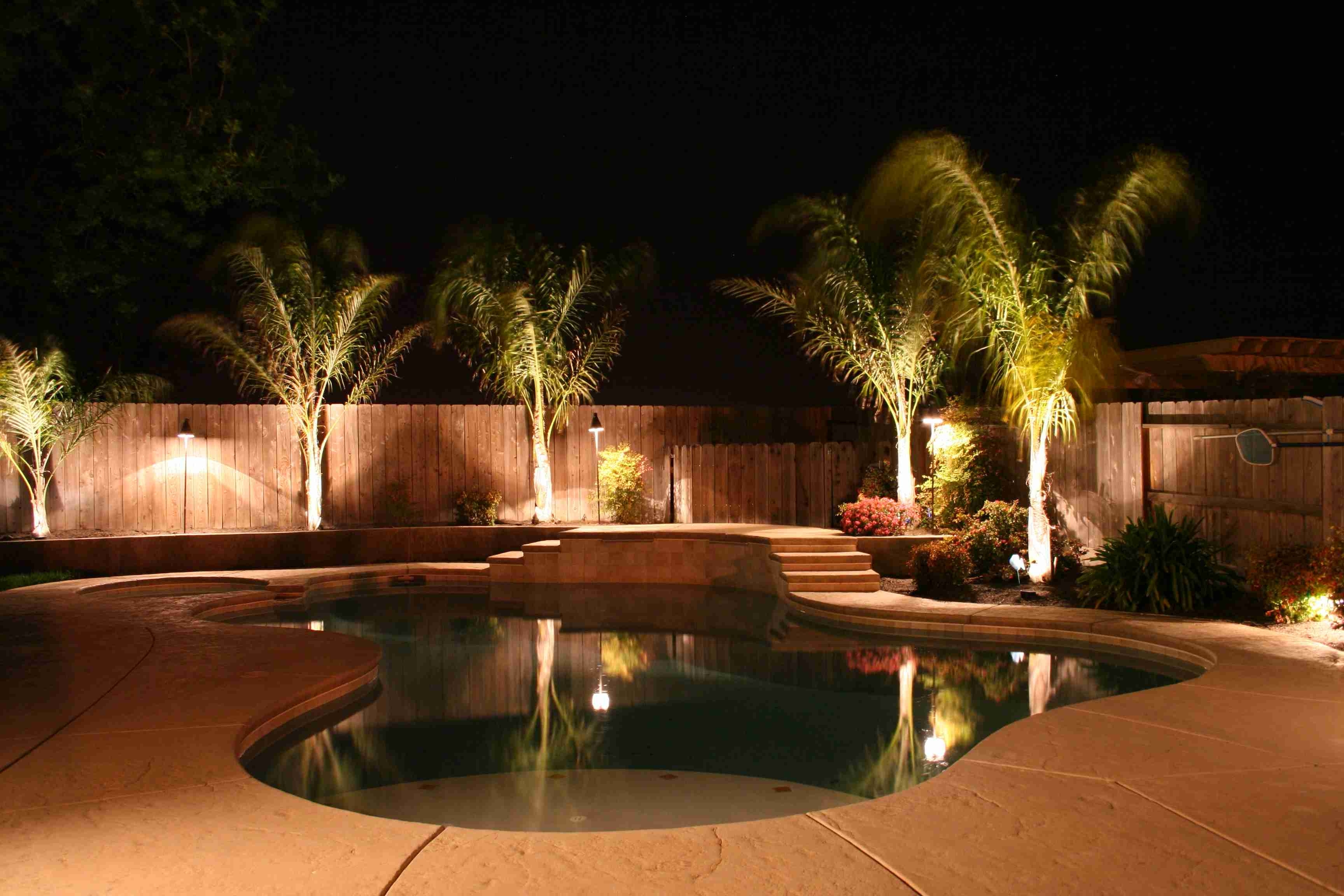Outdoor Lighting Around Pool – Outdoor Lighting Ideas Within Most Recent Outdoor Pool Lanterns (View 18 of 20)