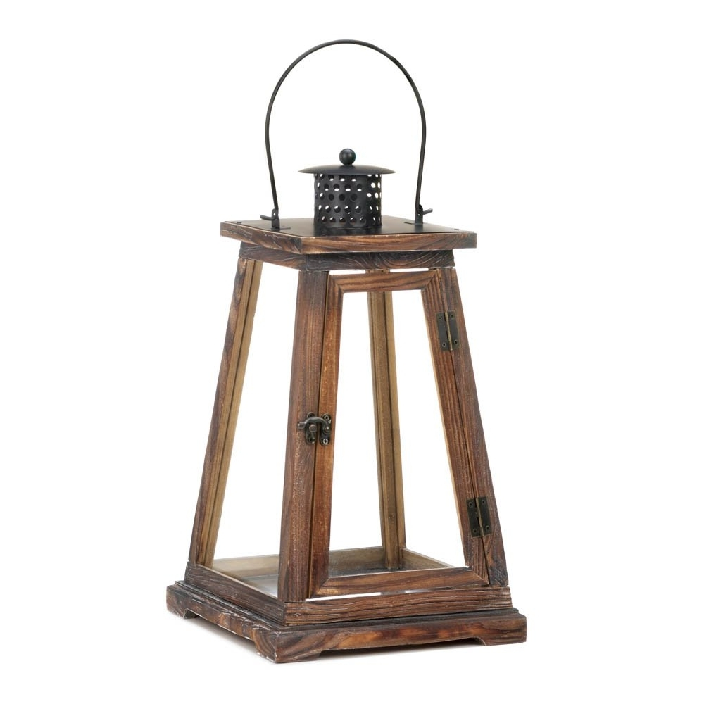 Outdoor Luminara Lanterns Pertaining To Most Current Decorative Candle Lanterns, Rustic Candle Lanterns, Ideal Large (Gallery 10 of 20)