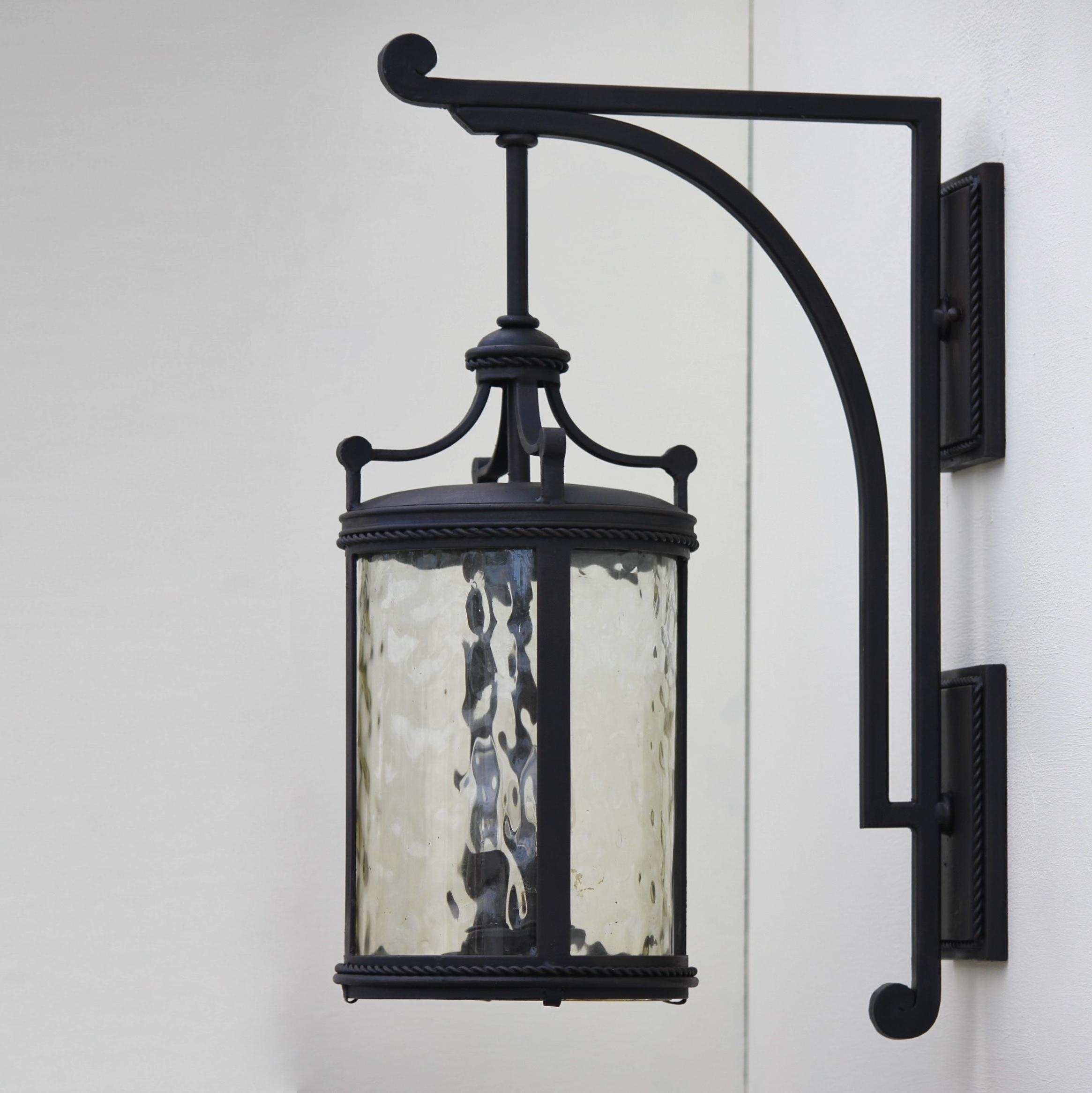 Outdoor Mexican Lanterns Regarding Well Known Lovely Wrought Iron Outdoor Light Fixtures — Bistrodre Porch And (View 14 of 20)