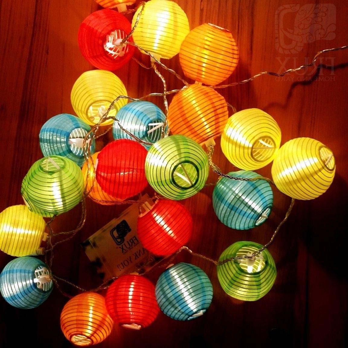 Outdoor Nylon Lanterns Pertaining To 2018 Lunaxia Nylon Lantern – Alice In Wonderland Shop (View 12 of 20)