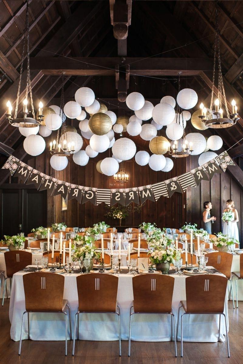Outdoor Nylon Lanterns Regarding Preferred The Outdoor Art Club Weddings (View 20 of 20)