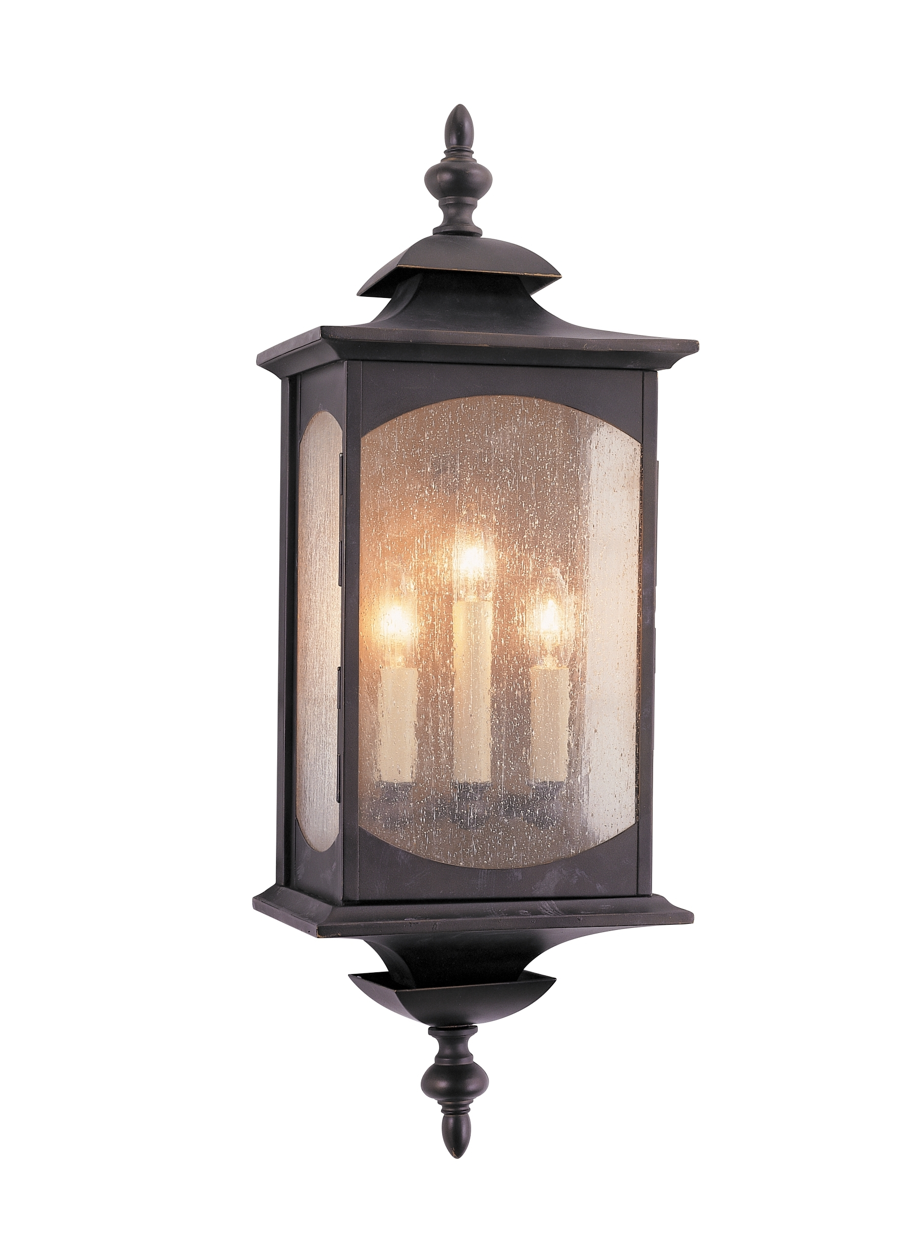 Outdoor Oil Lanterns For Most Up To Date Ol2602Orb,3 – Light Wall Lantern,oil Rubbed Bronze (View 7 of 20)
