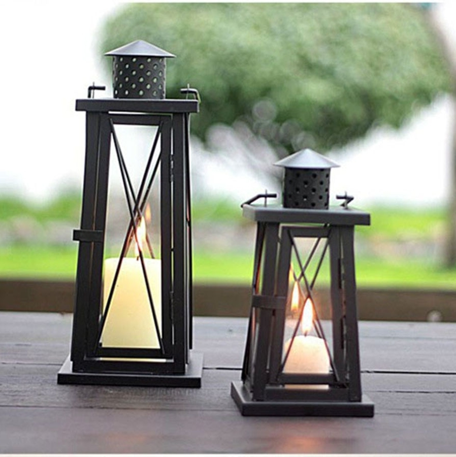 Outdoor Oil Lanterns Intended For Most Recent Outdoor Lighting Wall Lamp Led Modern Bedroom Decorative Candle (Gallery 1 of 20)