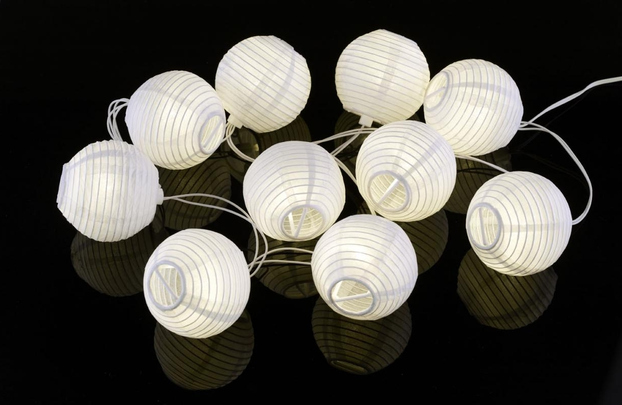 Outdoor Paper Lanterns For Patio Pertaining To Well Known Paper Lantern Small : Lighting – Paper Lantern Japanese Styles (View 10 of 20)