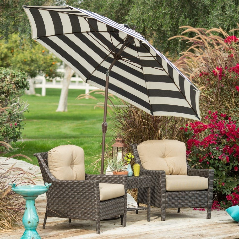 Outdoor Patio Umbrellas Pertaining To Favorite This Patio Umbrella Is A Great Complement To Your Outdoor Furniture (View 16 of 20)